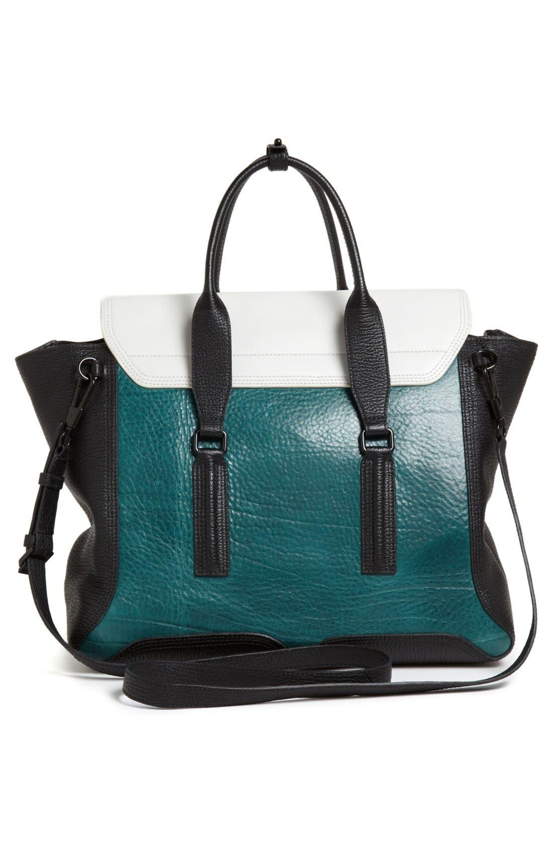 Alternate Image 4  - 3.1 Phillip Lim 'Pashli' Colorblock Leather Crossbody Satchel (Nordstrom Exclusive)