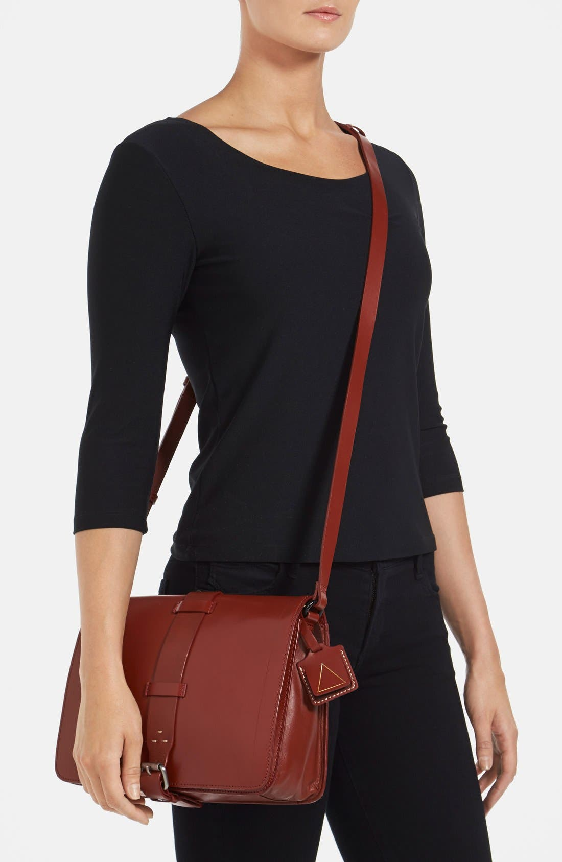 Alternate Image 2  - Kelsi Dagger Brooklyn 'Courier' Leather Crossbody Bag