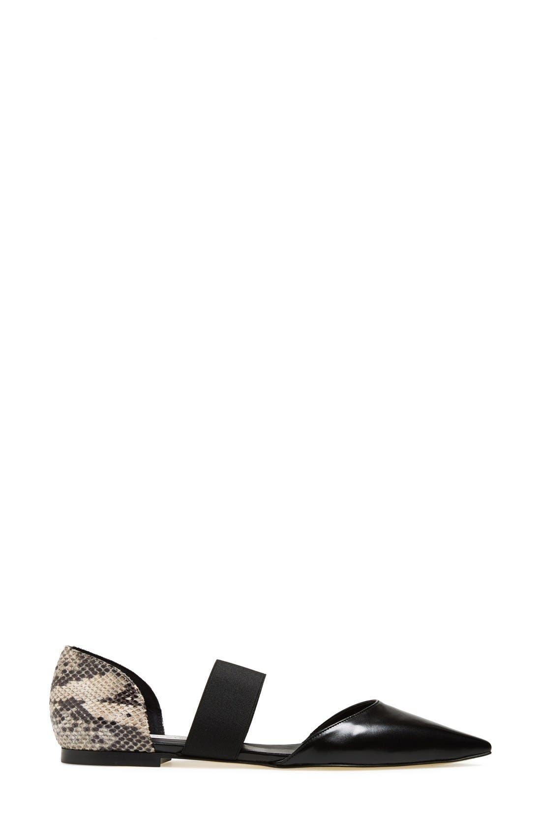 Alternate Image 4  - Stella McCartney Python Print Flat (Women)