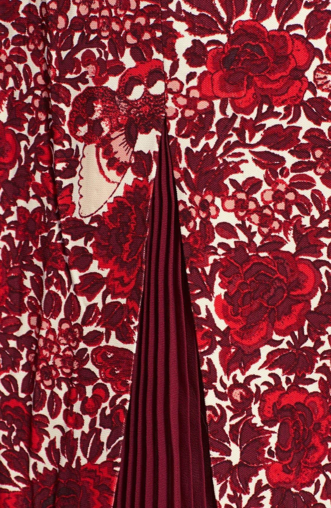 Alternate Image 3  - Tory Burch 'Ria' Floral Print Shift Dress