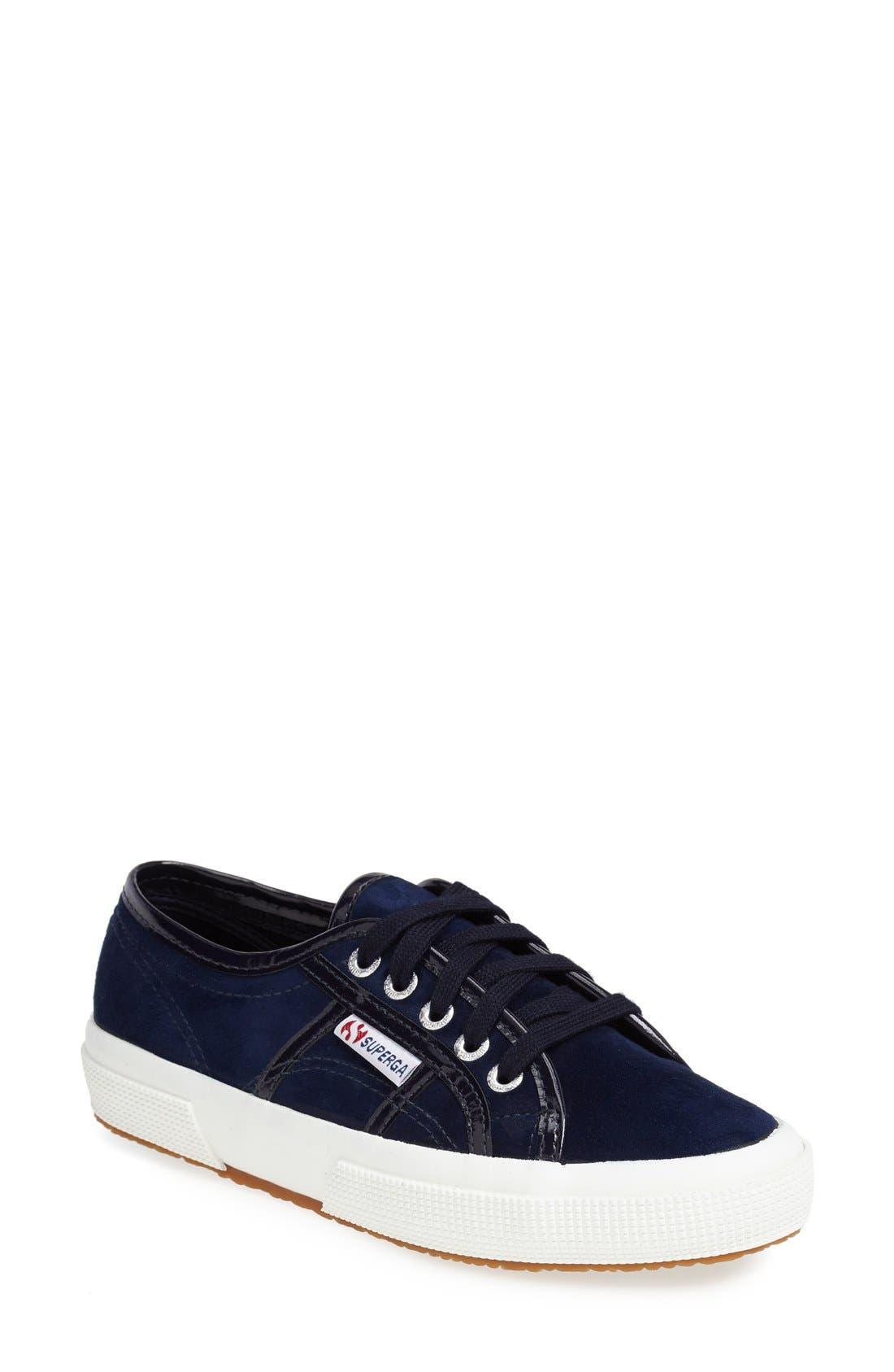 Alternate Image 1 Selected - Superga Suede Slip-On Sneaker (Women)