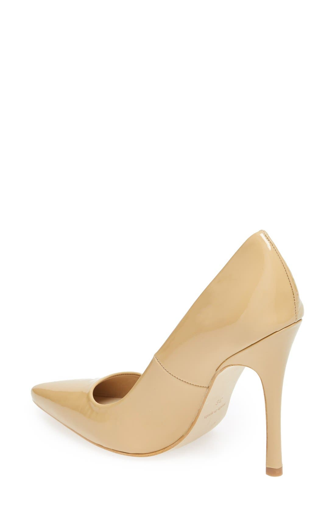 Alternate Image 2  - Topshop 'Gallop' Patent Pointy Toe Pump (Women)