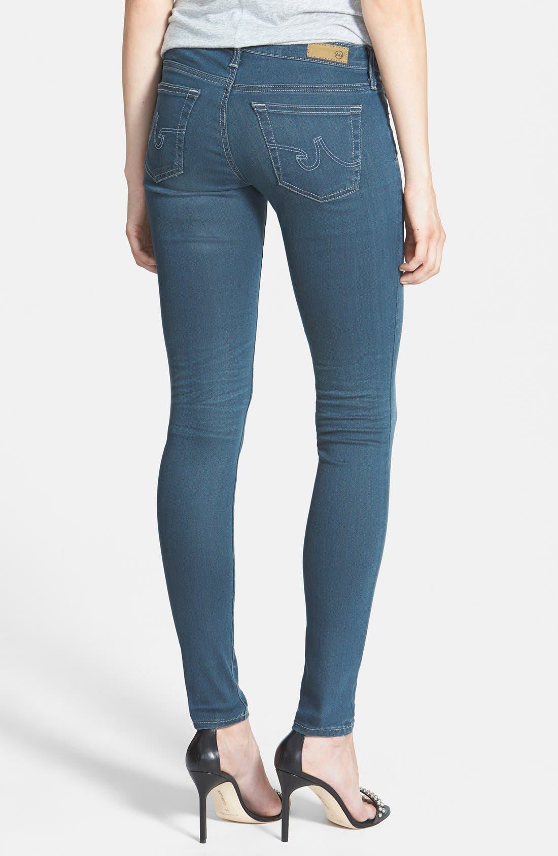 Alternate Image 2  - AG 'The Legging' Skinny Jeans (3Y Windstorm)