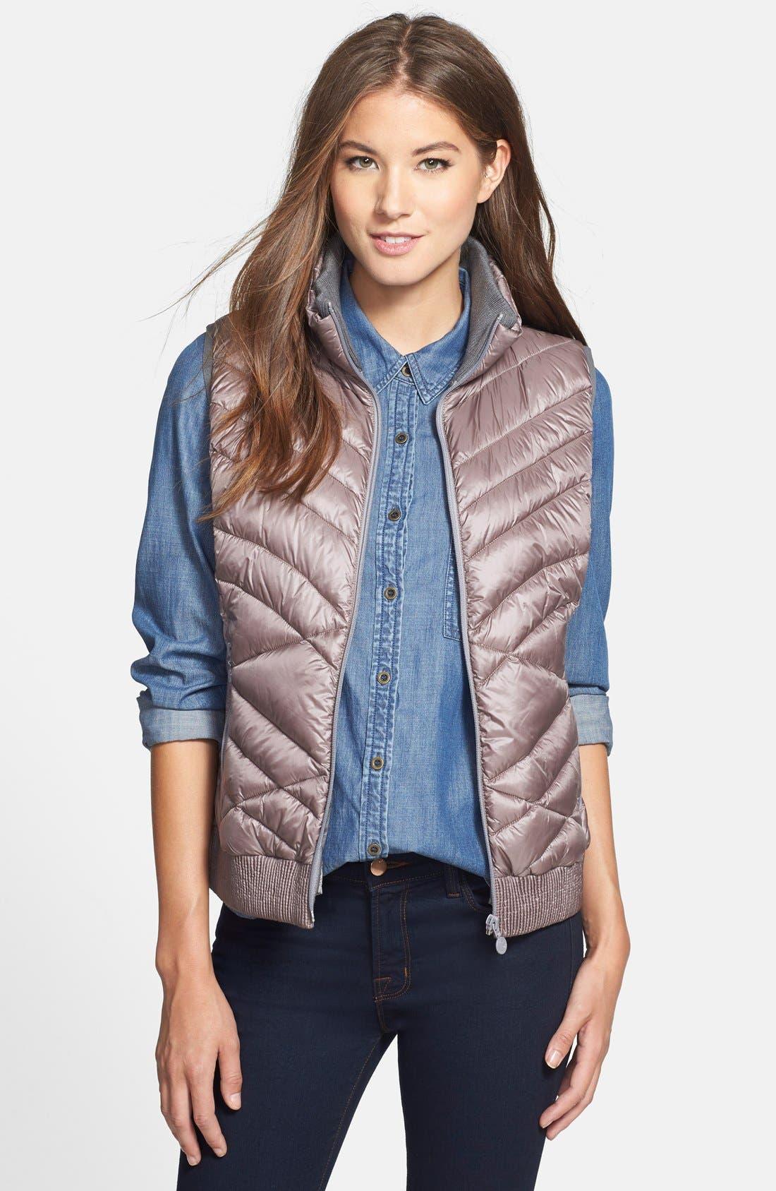 Alternate Image 1 Selected - Bernardo PrimaLoft® Vest (Regular & Petite)
