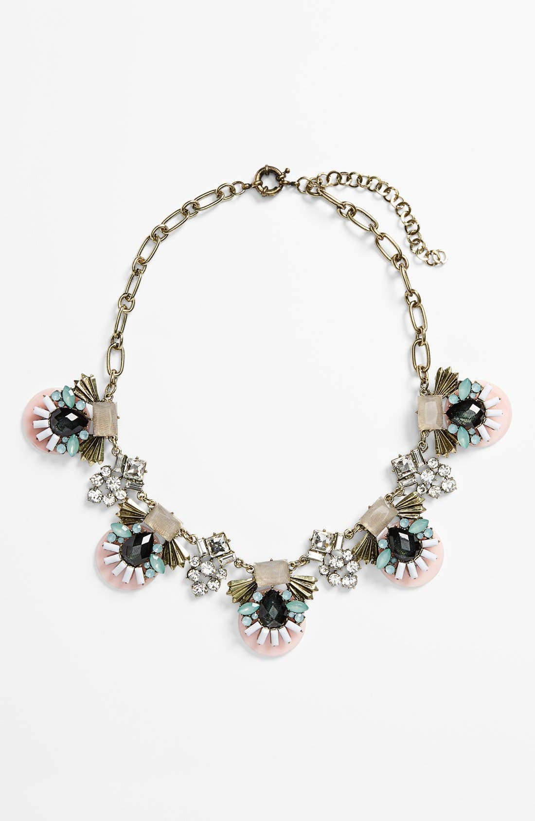 Alternate Image 1 Selected - Sole Society 'Deco' Statement Necklace