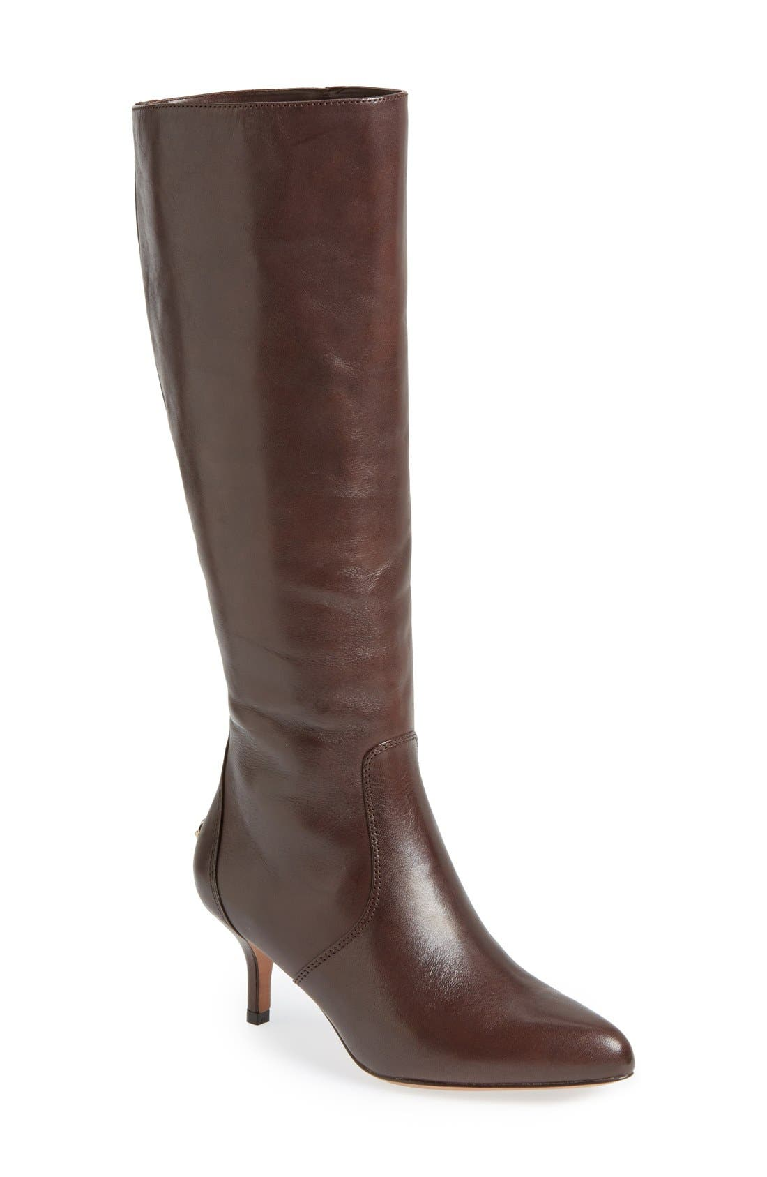 Alternate Image 1 Selected - COACH 'Foxy' Knee High Boot (Women)