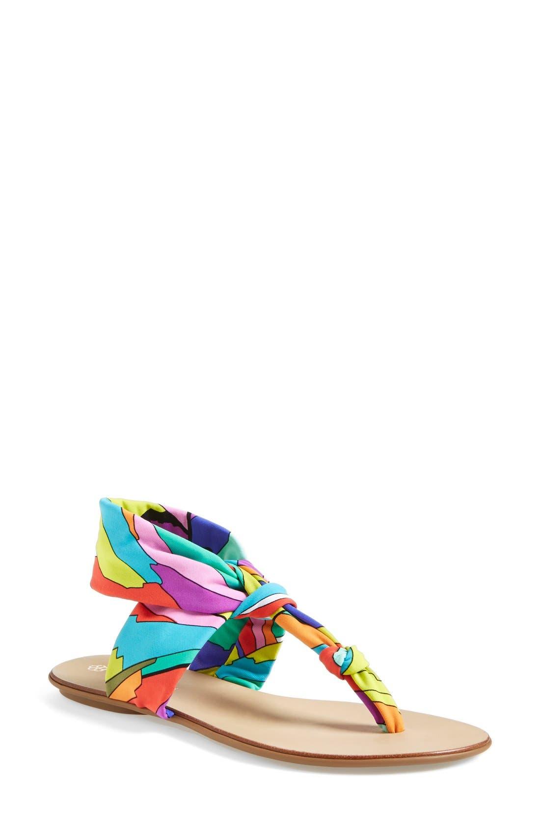 Alternate Image 1 Selected - Trina Turk 'Titus' Thong Sandal (Women)