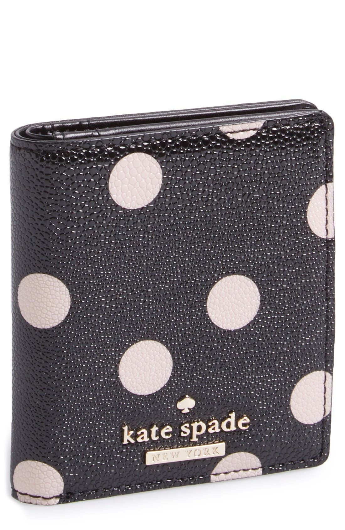 Alternate Image 1 Selected - kate spade new york 'cedar street dot - small stacy' wallet