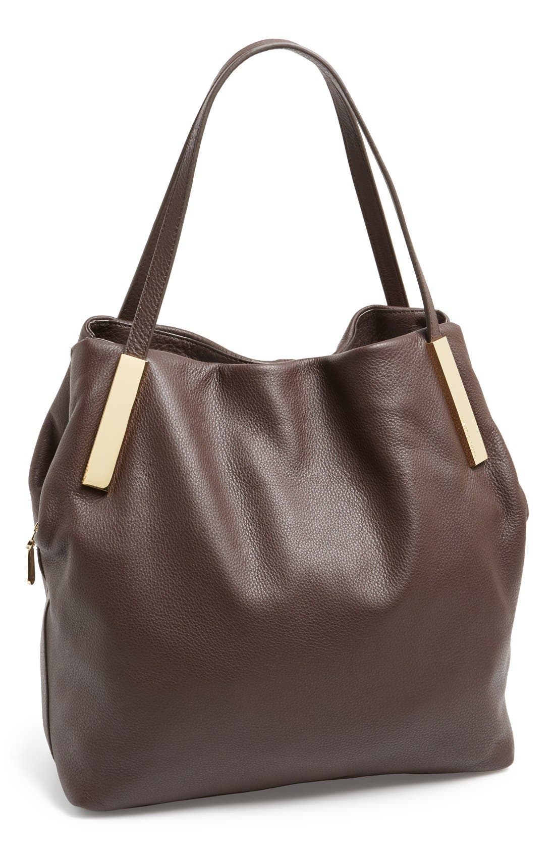 Alternate Image 1 Selected - Vince Camuto 'Brody' Leather Tote