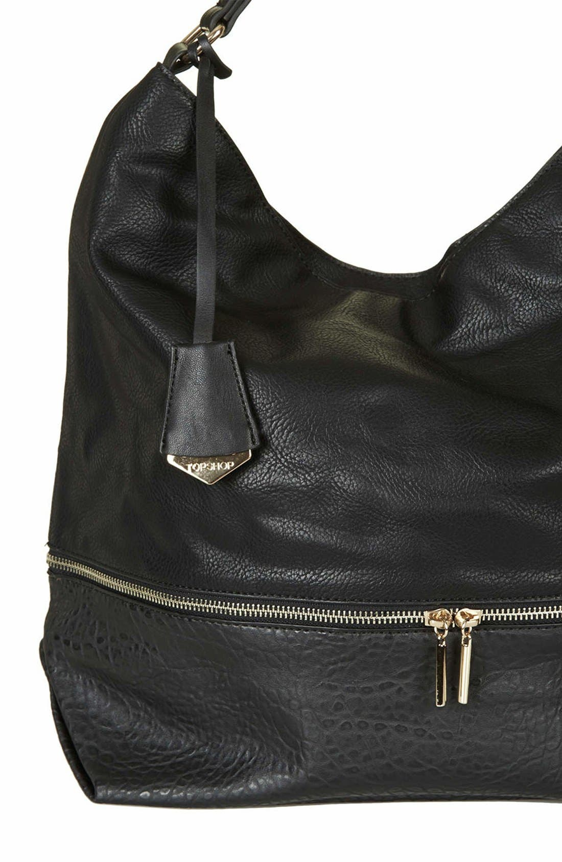 Alternate Image 3  - Topshop Slouchy Hobo Bag