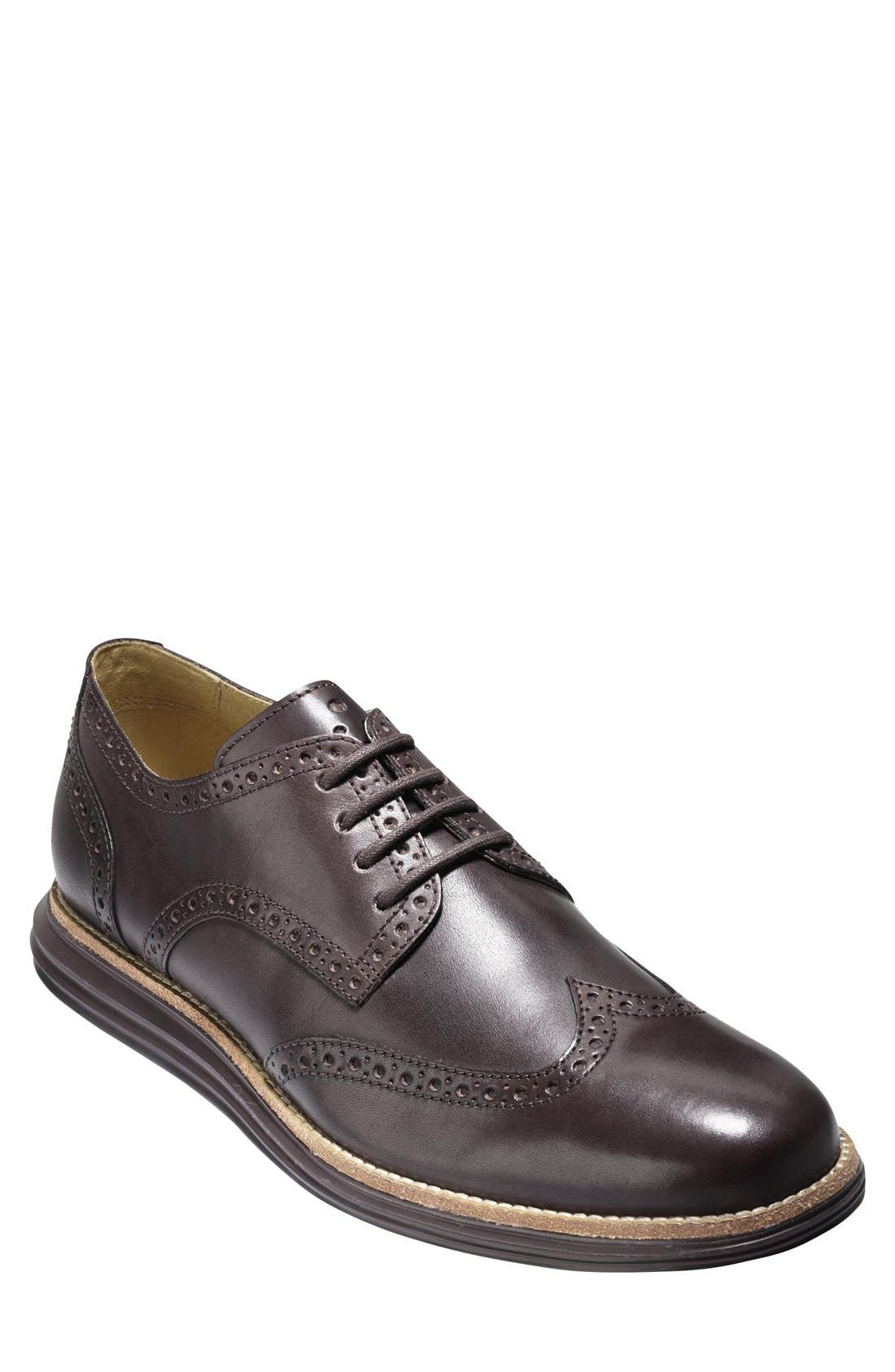 Alternate Image 1 Selected - Cole Haan 'LunarGrand' Wingtip   (Men)