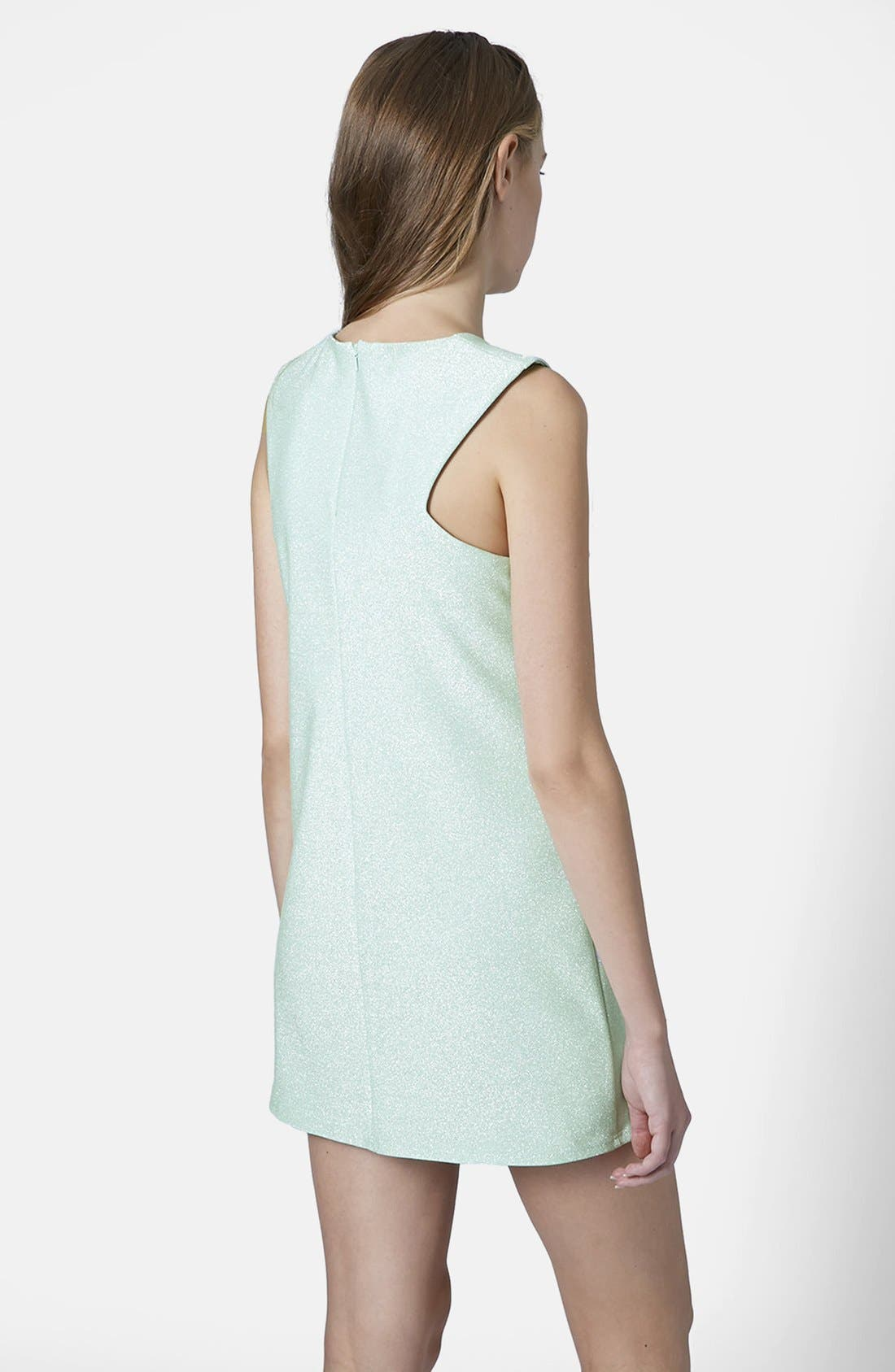 Alternate Image 2  - Topshop Cutaway Shift Dress
