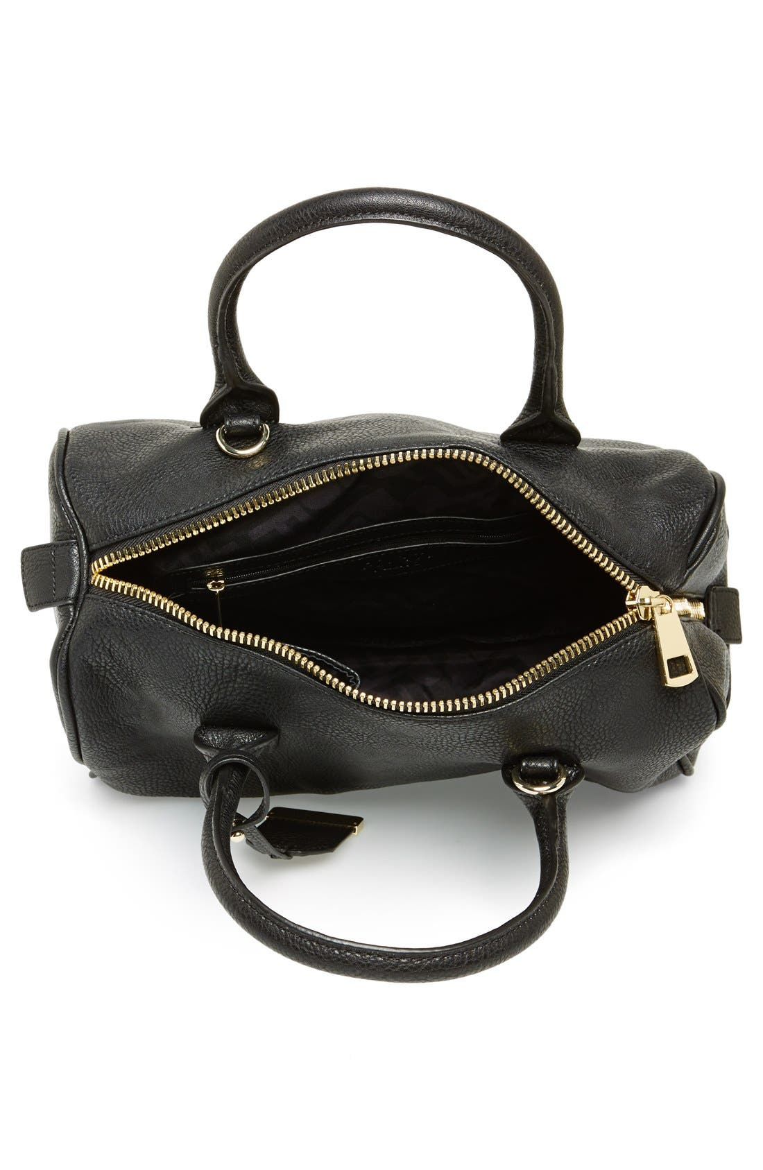 Alternate Image 3  - POVERTY FLATS by rian Faux Leather Zip Satchel