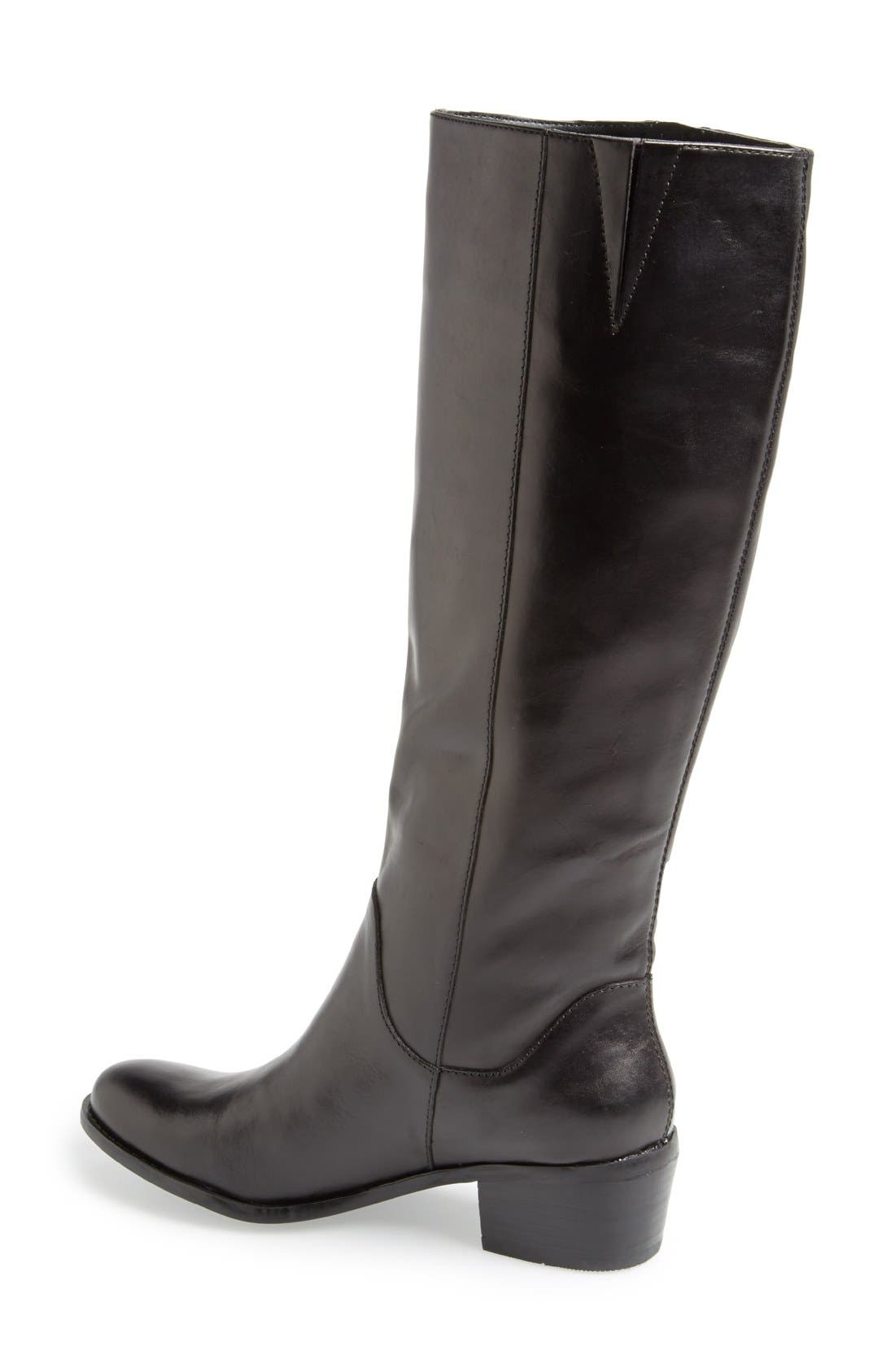 Alternate Image 2  - Sole Society 'Bria' Leather Knee High Boot (Women)