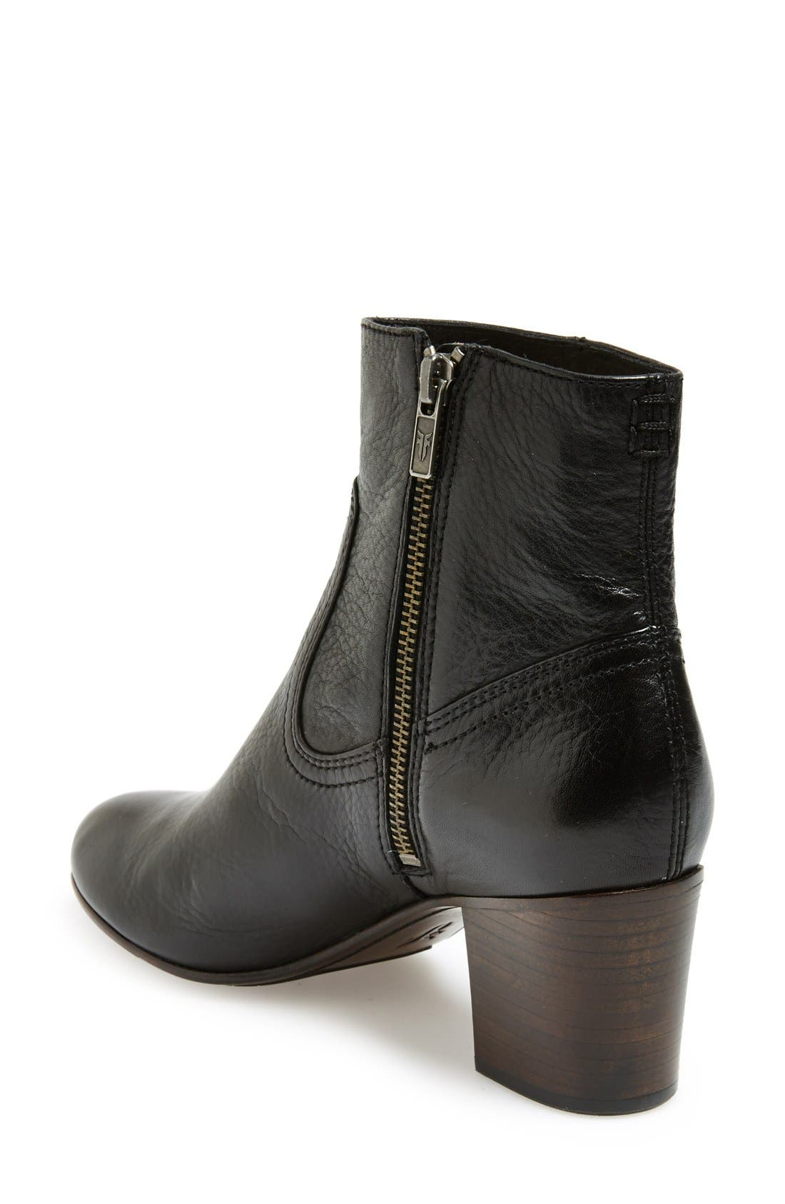 Alternate Image 2  - Frye 'Stella' Zip Short Boot (Women)