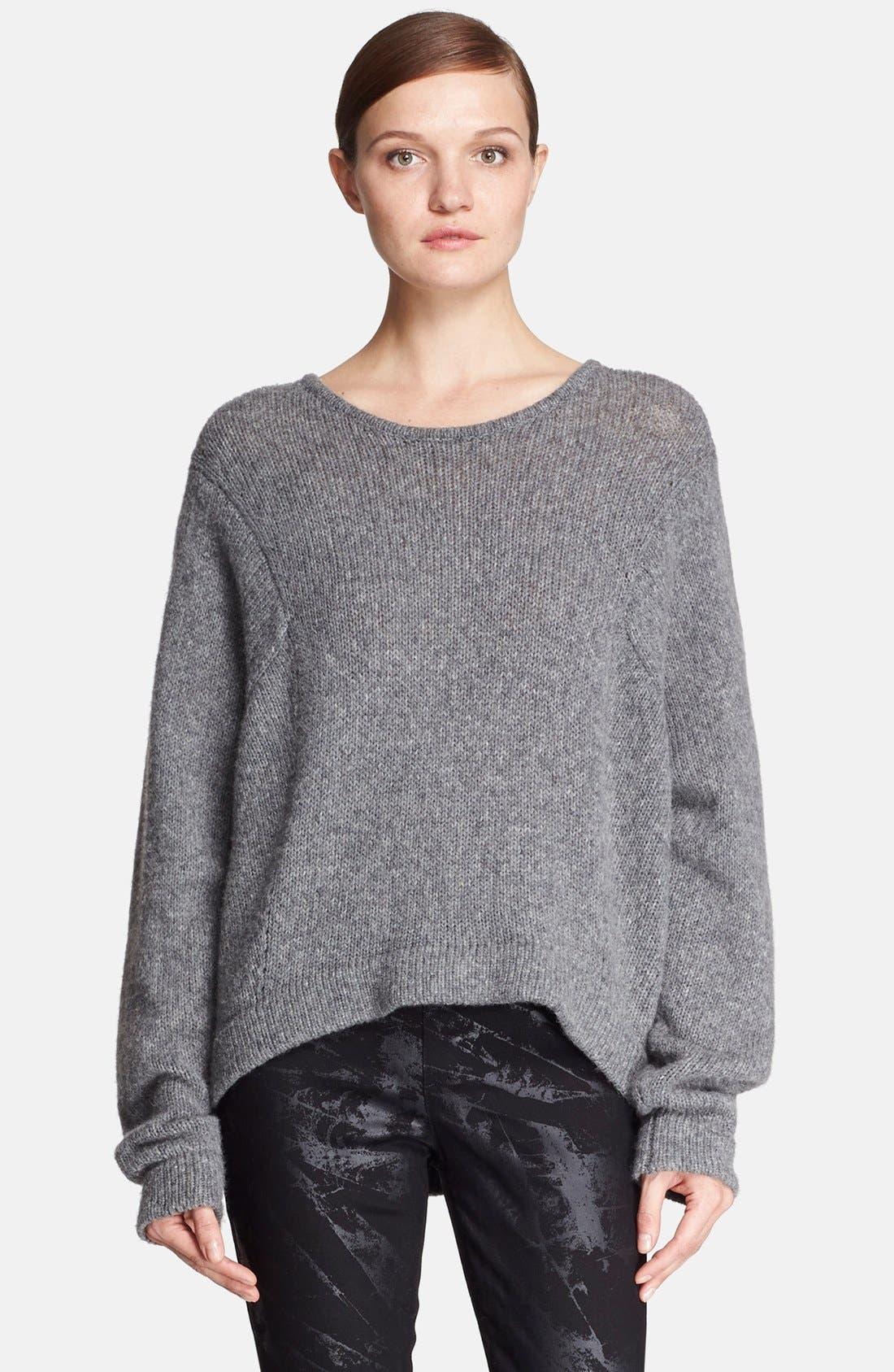 Alternate Image 1 Selected - Helmut Lang Oversize Wool Blend Sweater