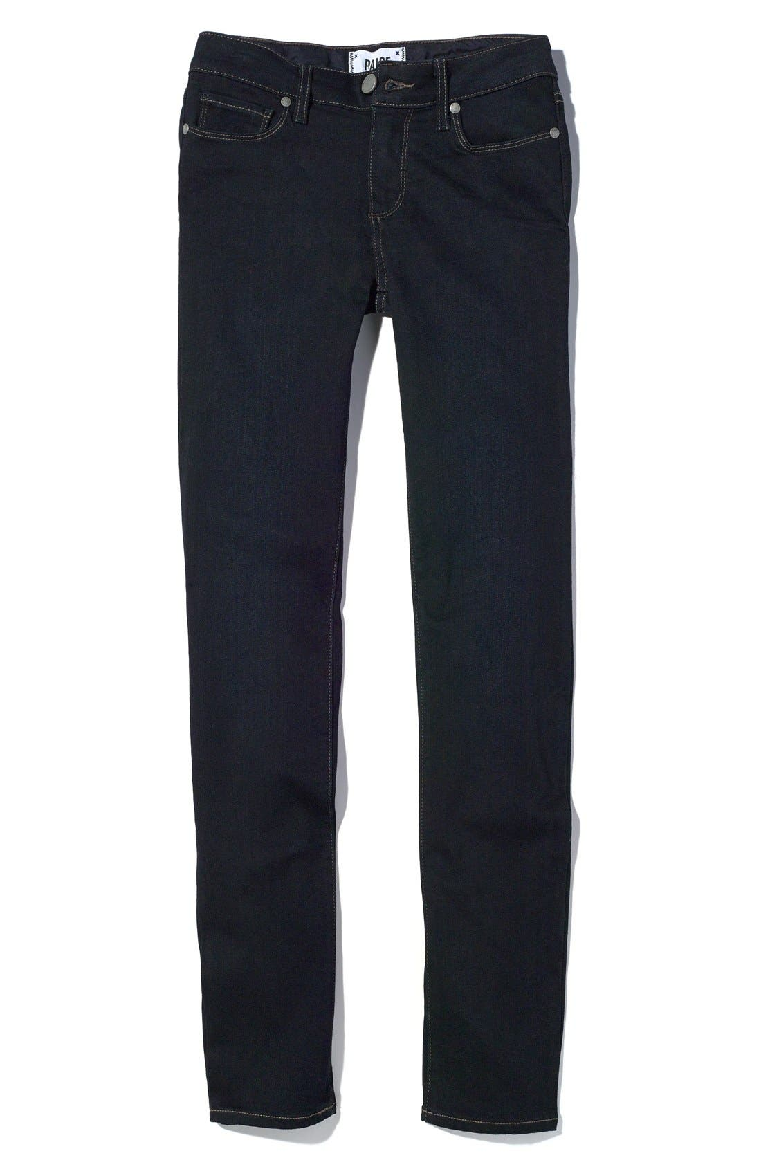 Alternate Image 5  - PAIGE 'Transcend - Skyline' Skinny Jeans (Mona)