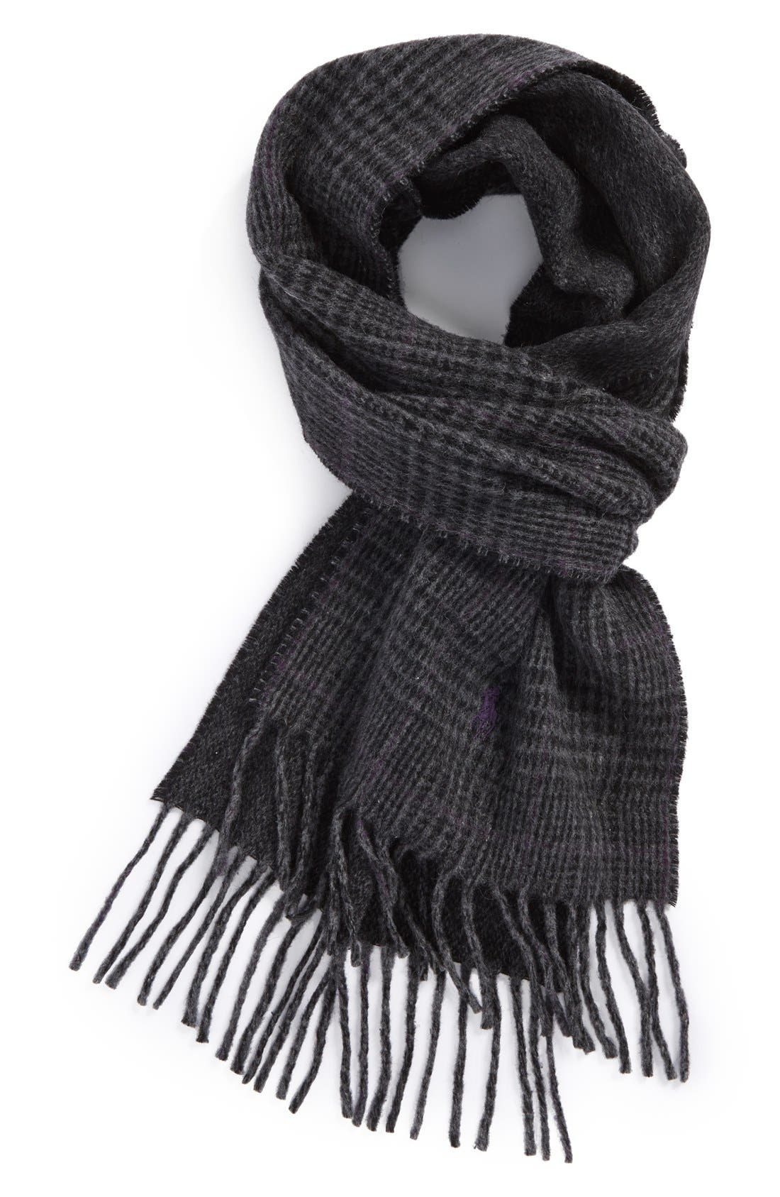 Alternate Image 1 Selected - Polo Ralph Lauren Double Face Scarf