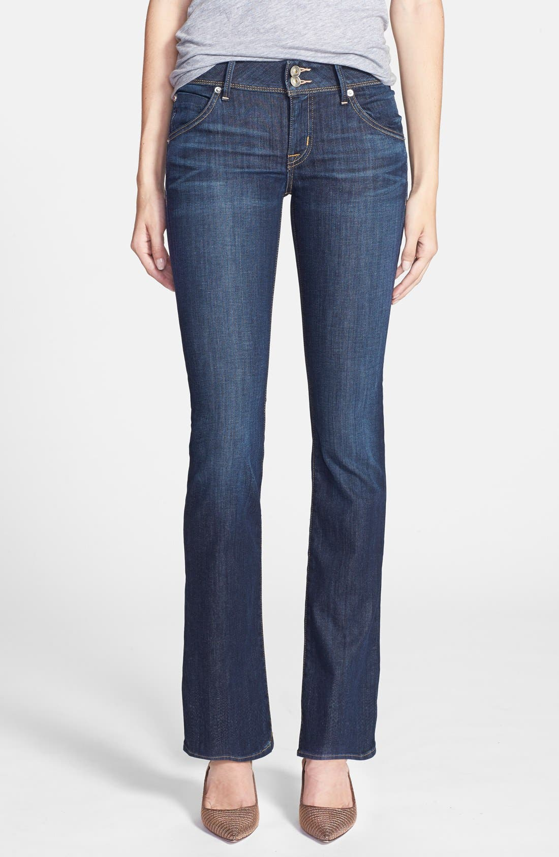 Hudson Jeans 'Beth' Baby Bootcut Jeans (Stella) (Petite) | Nordstrom