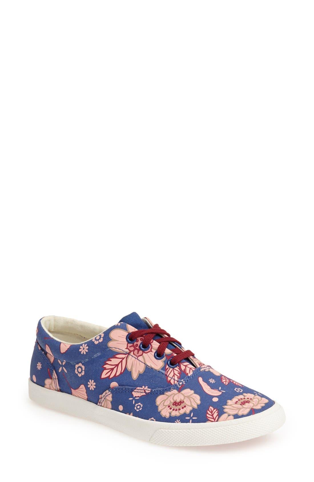 Alternate Image 1 Selected - BucketFeet 'Blue East' Print Sneaker (Women)