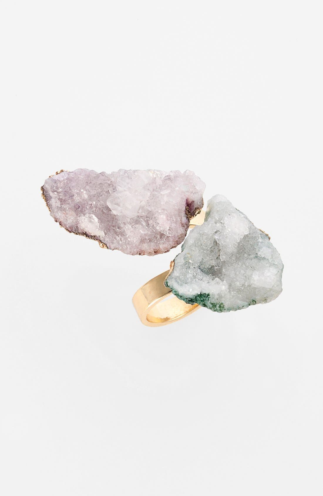 Main Image - Tildon Double Raw Stone Ring