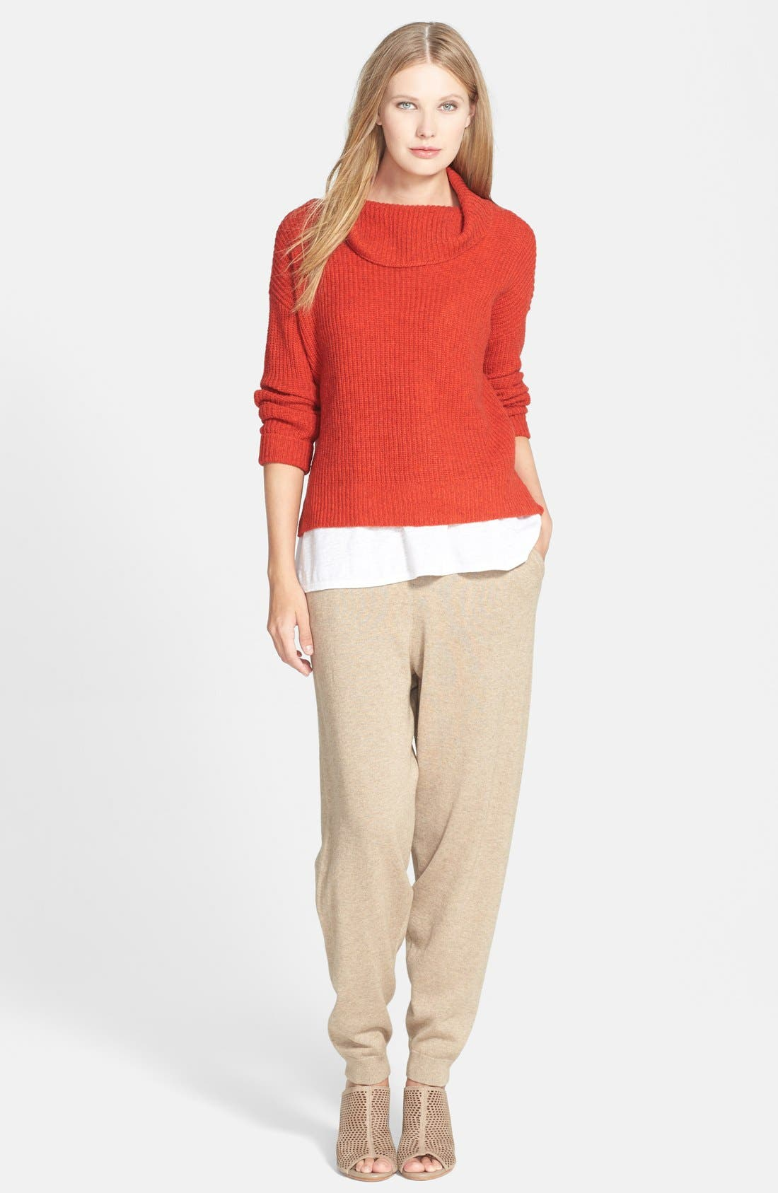 Alternate Image 4  - Eileen Fisher The Fisher Project Slouchy Cotton & Cashmere Knit Ankle Pants