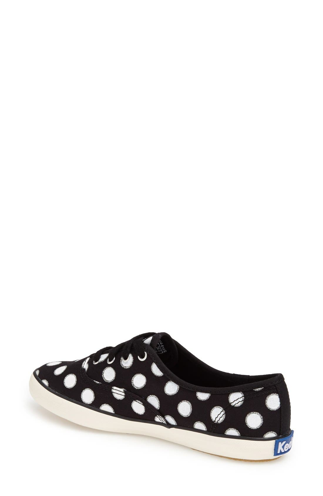 Alternate Image 2  - Keds® 'Champion - Glitter Dot' Canvas Sneaker (Women) (Regular Retail Price: $49.95)