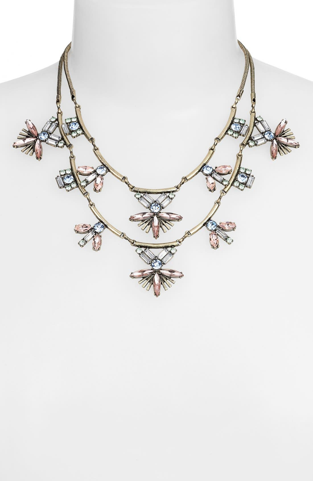 Alternate Image 2  - Robert Rose Stone Cluster Tiered Statement Necklace