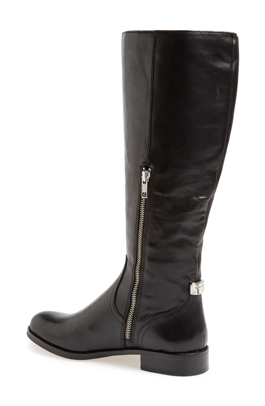Alternate Image 3  - COACH 'Mirriam' Leather Riding Boot (Women)