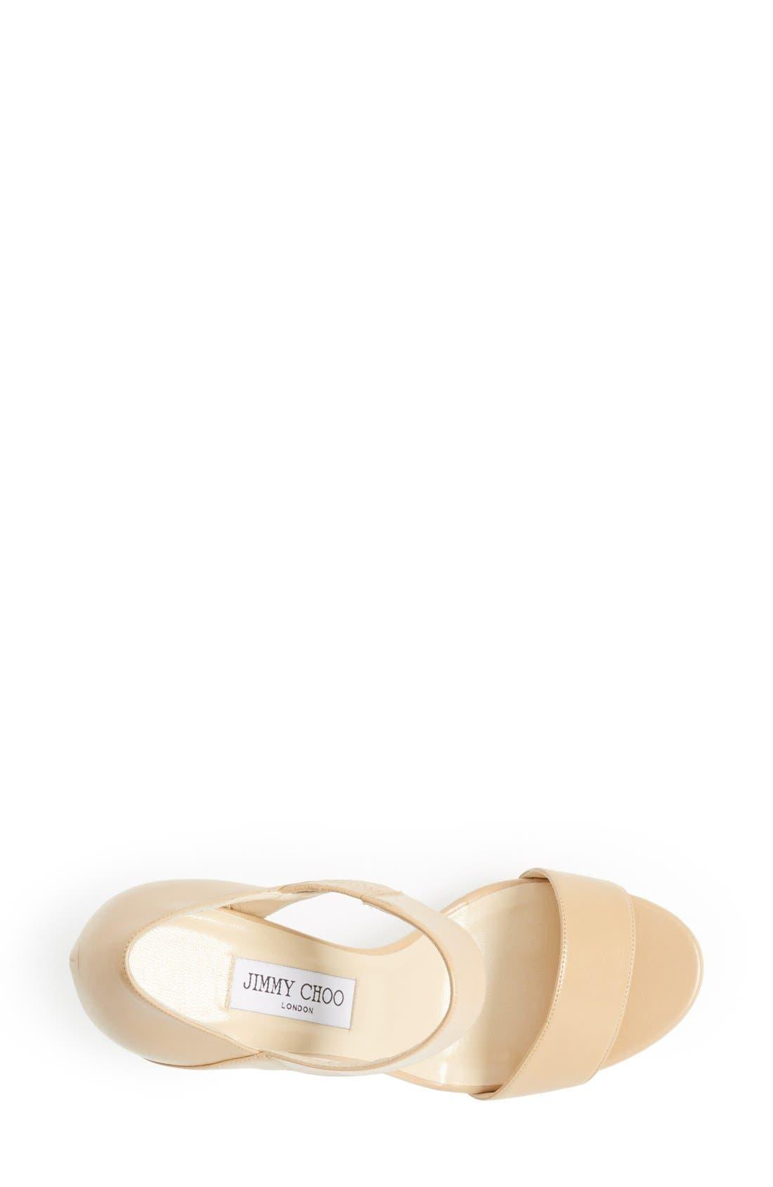 Alternate Image 3  - Jimmy Choo 'Alana' Platform Sandal (Women)