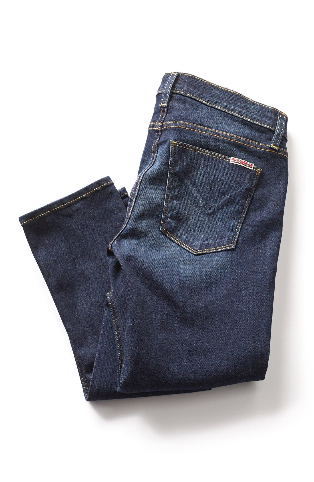 Alternate Image 5  - Hudson Jeans 'Collette' Skinny Jeans (Stella)