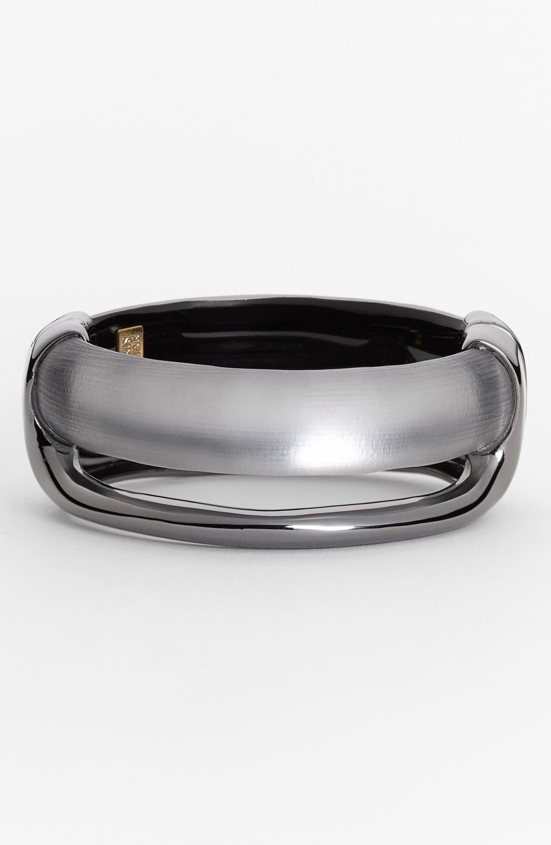 Alternate Image 1 Selected - Alexis Bittar 'Lucite® - Liquid' Open Hinge Bangle