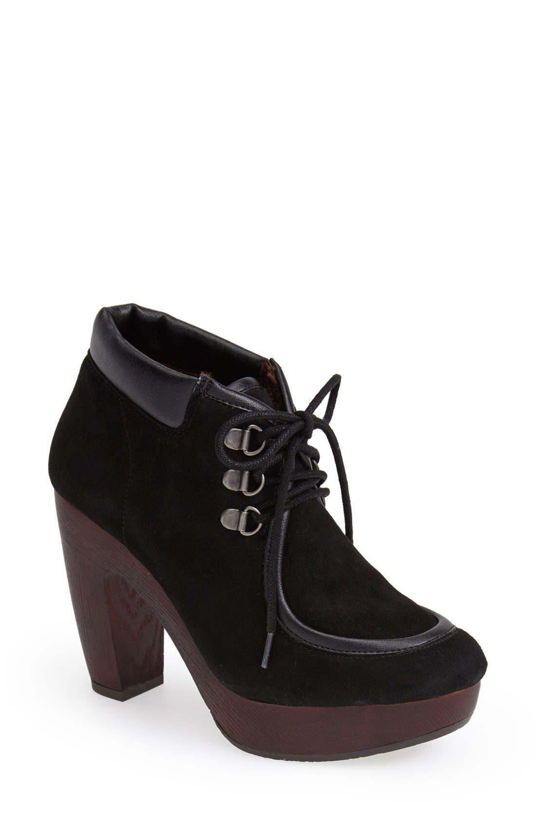 Alternate Image 1 Selected - Lucky Brand 'Cendara' Platform Bootie (Women)