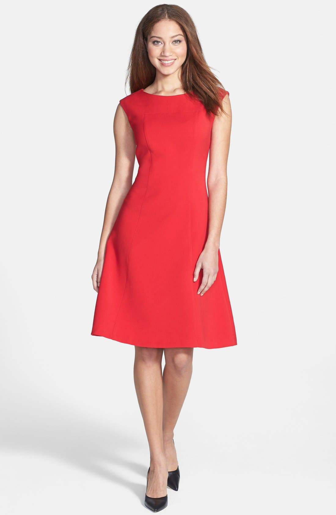 Alternate Image 1 Selected - Anne Klein Fit & Flare Dress