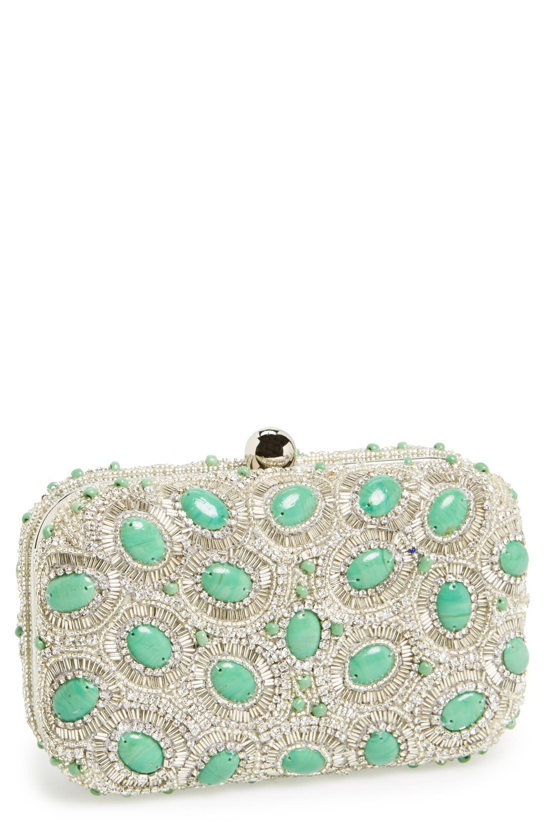 Alternate Image 1 Selected - Micky London Handbags Rhinestone Minaudiere