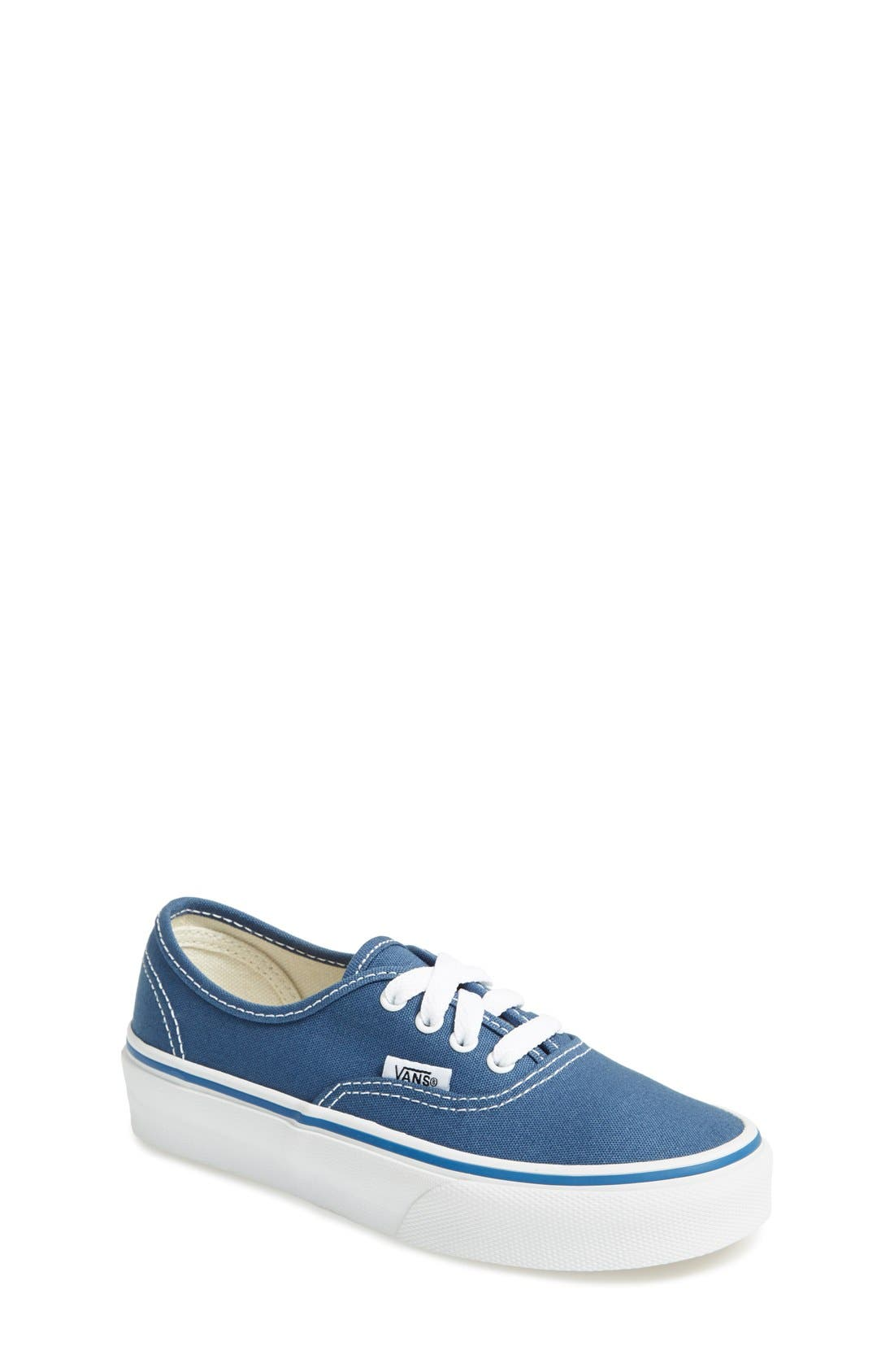 Alternate Image 1 Selected - Vans 'Authentic' Sneaker (Baby, Walker, Toddler, Little Kid & Big Kid)