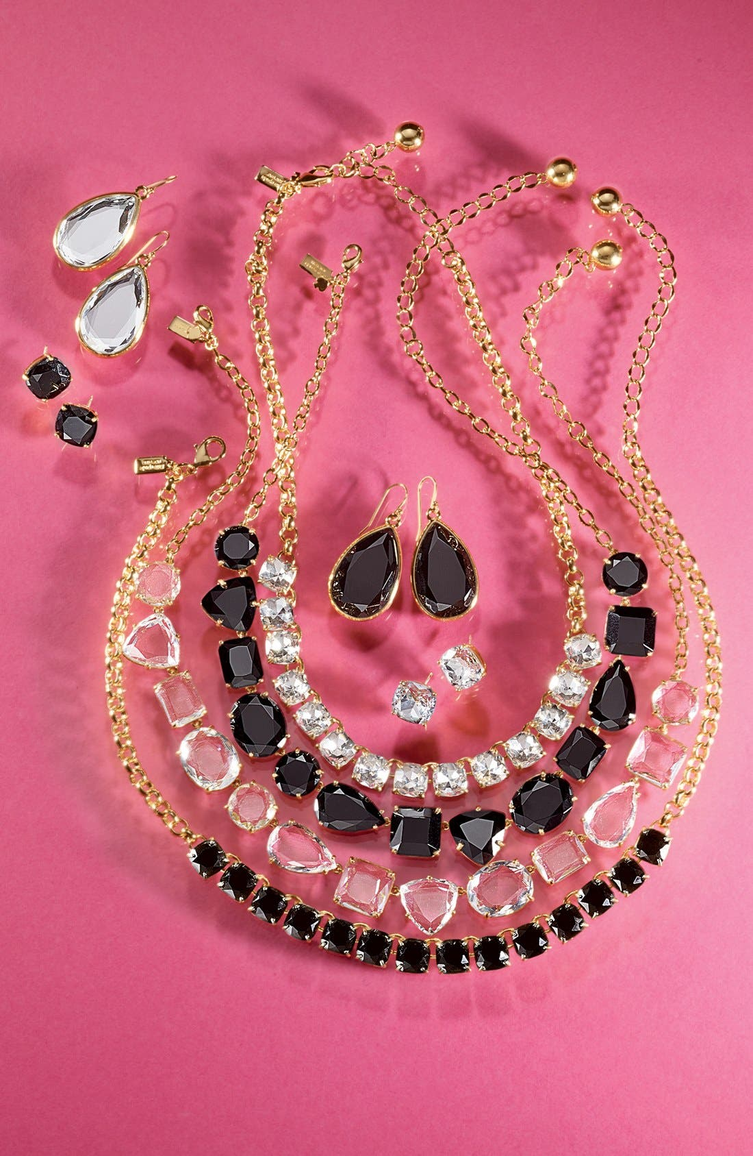 Alternate Image 5  - kate spade new york 'squared away' bib necklace