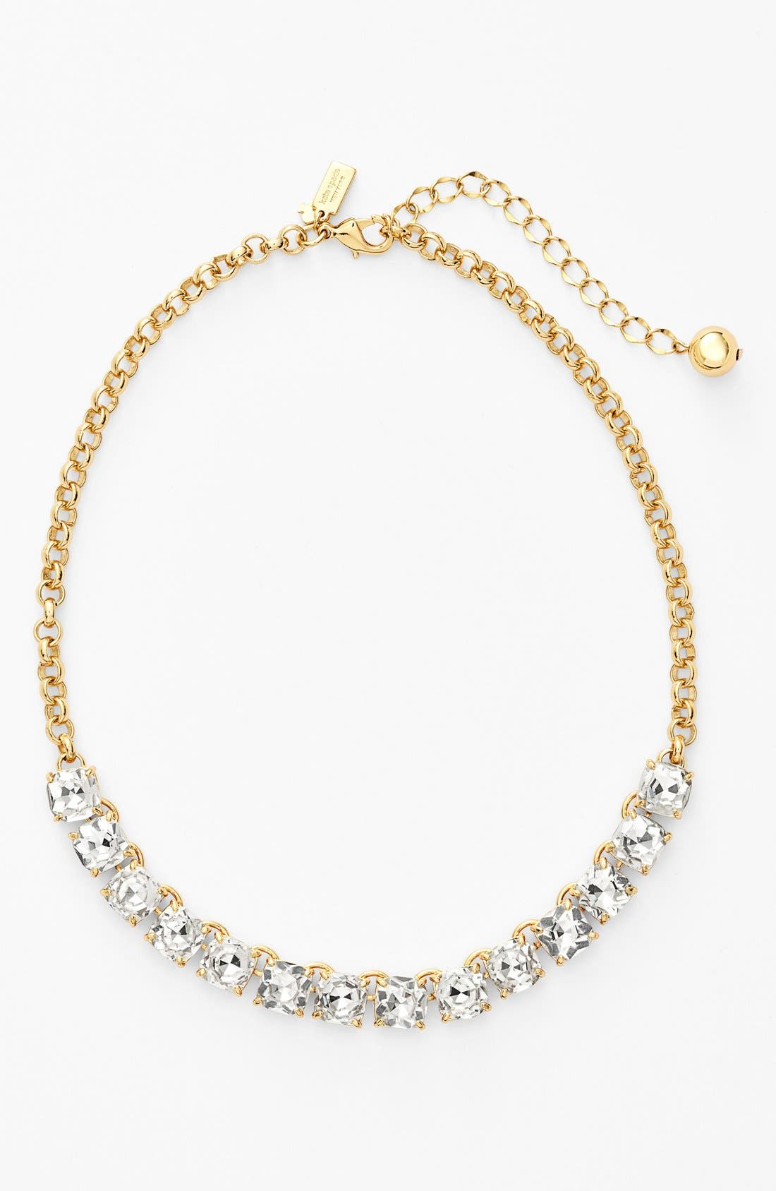 Alternate Image 1 Selected - kate spade new york 'squared away' bib necklace