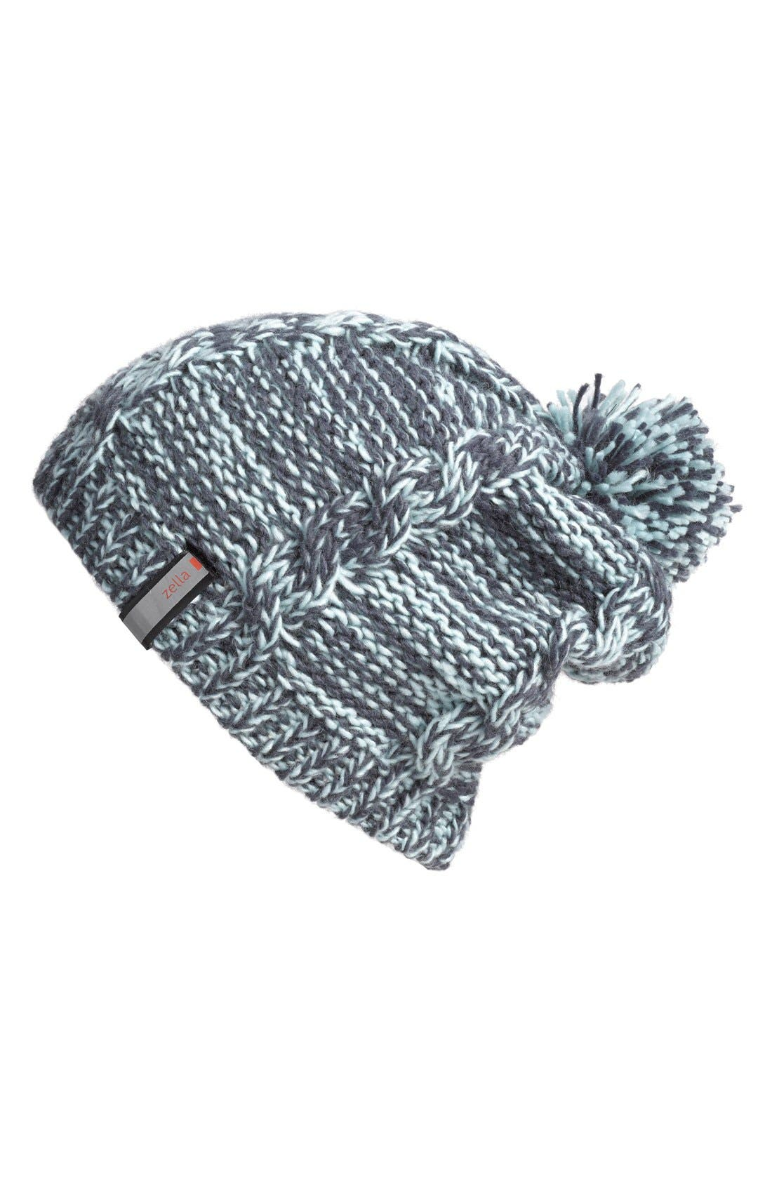 Alternate Image 1 Selected - Zella Chunky Knit Beanie