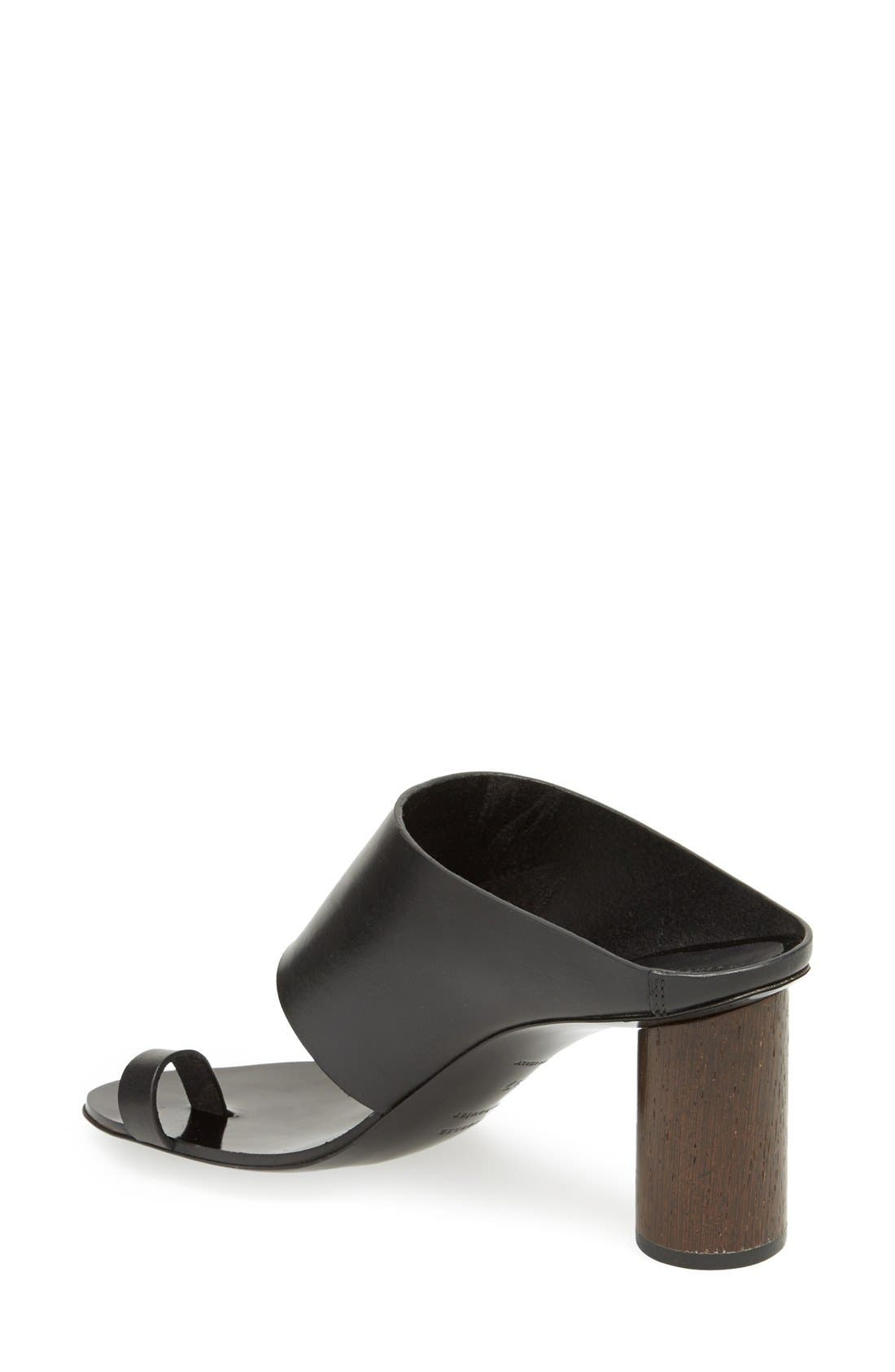 Alternate Image 2  - Proenza Schouler Wood Heel Sandal (Women)