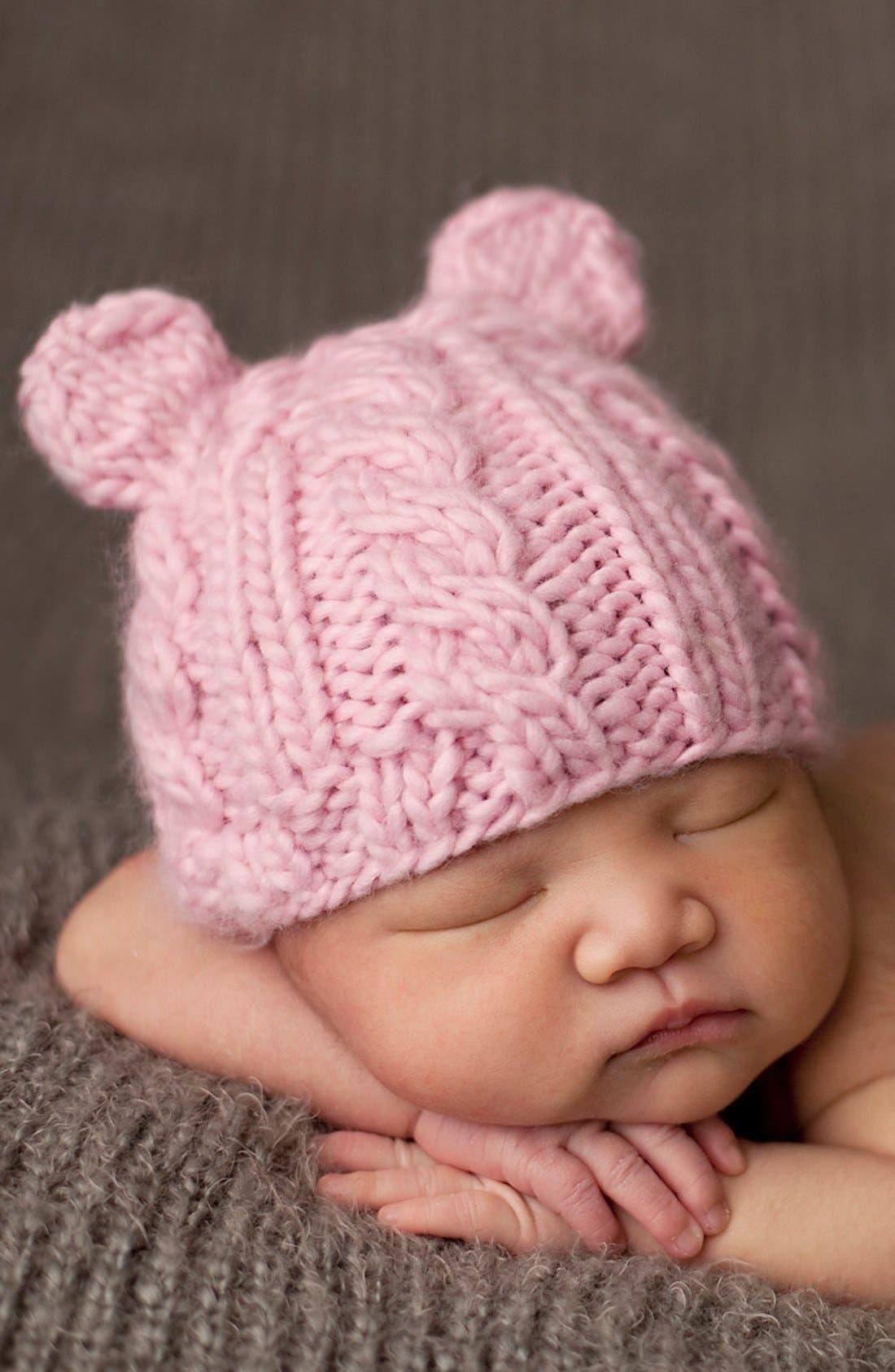BLUEBERRY HILL 'Julian Bear' Knit Hat