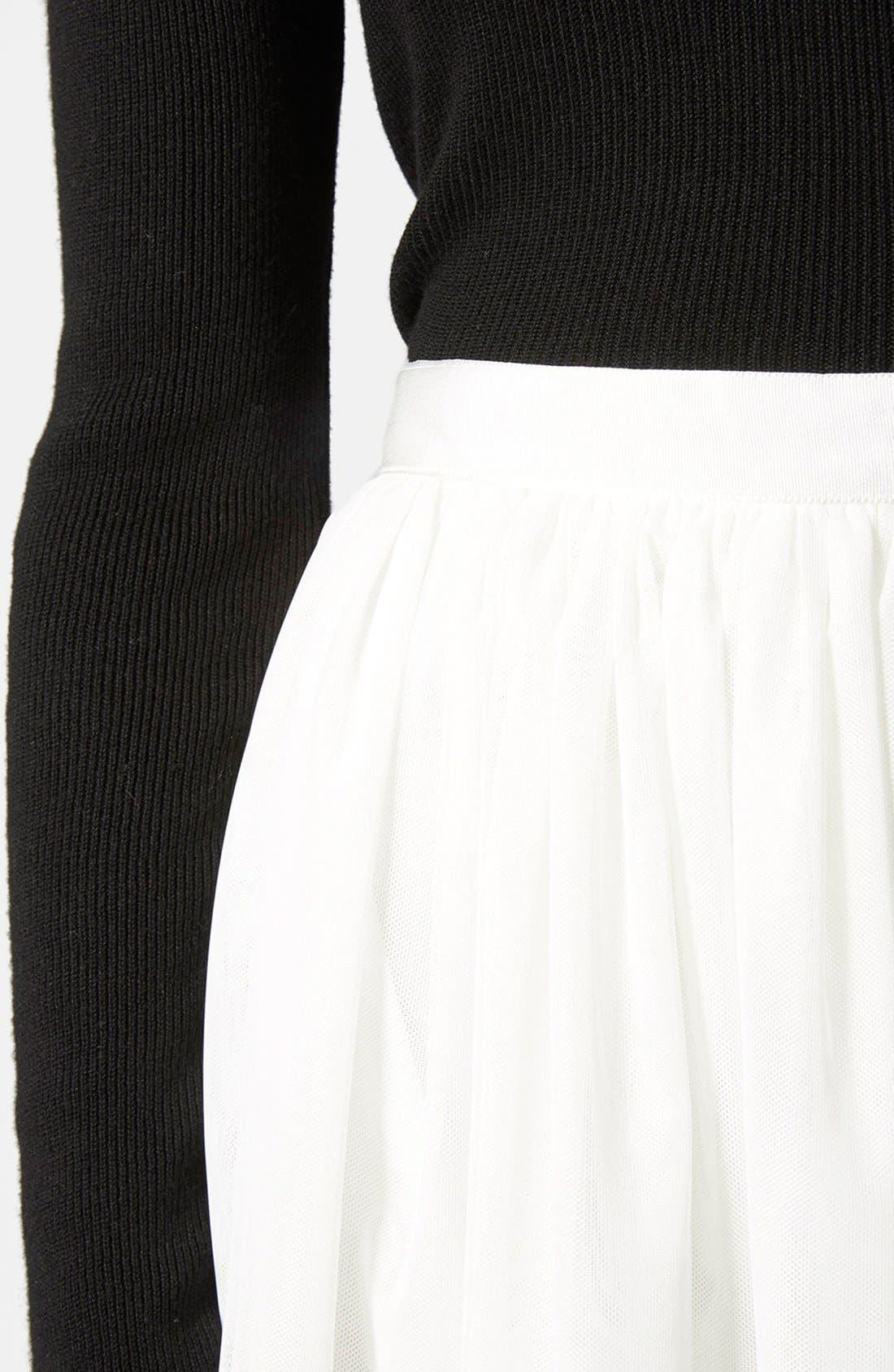 Alternate Image 4  - Topshop Ballerina Tulle Skirt