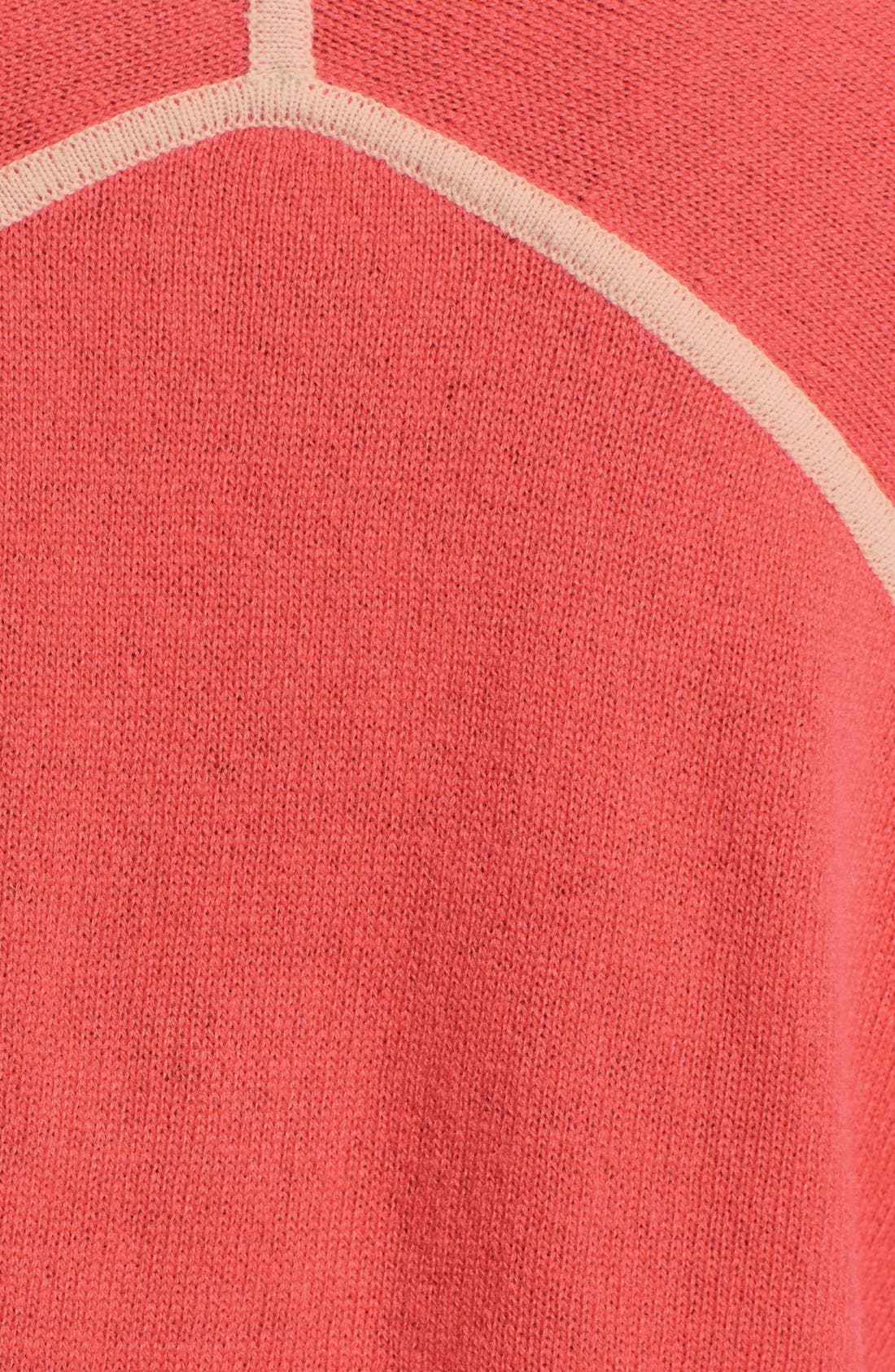 Alternate Image 3  - autumn cashmere Contrast Piping Side Slit Cashmere Tunic