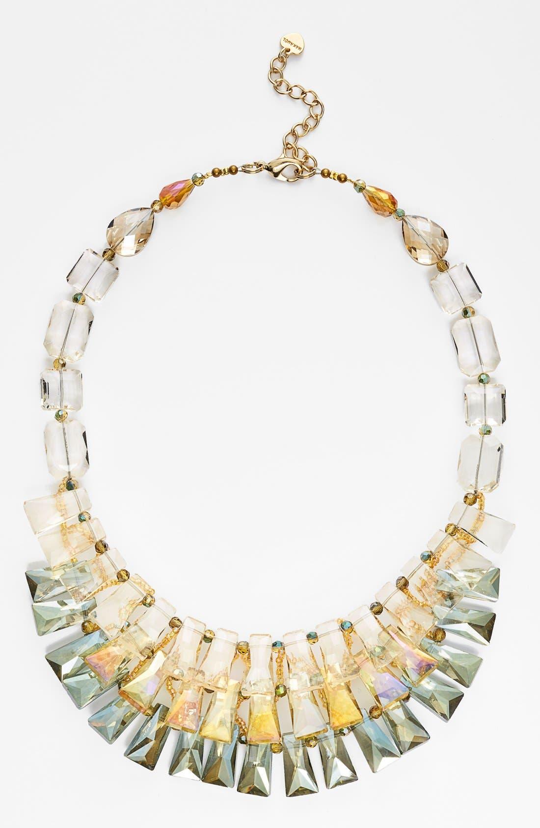 Alternate Image 1 Selected - Nakamol Design Tiered Crystal Bib Necklace