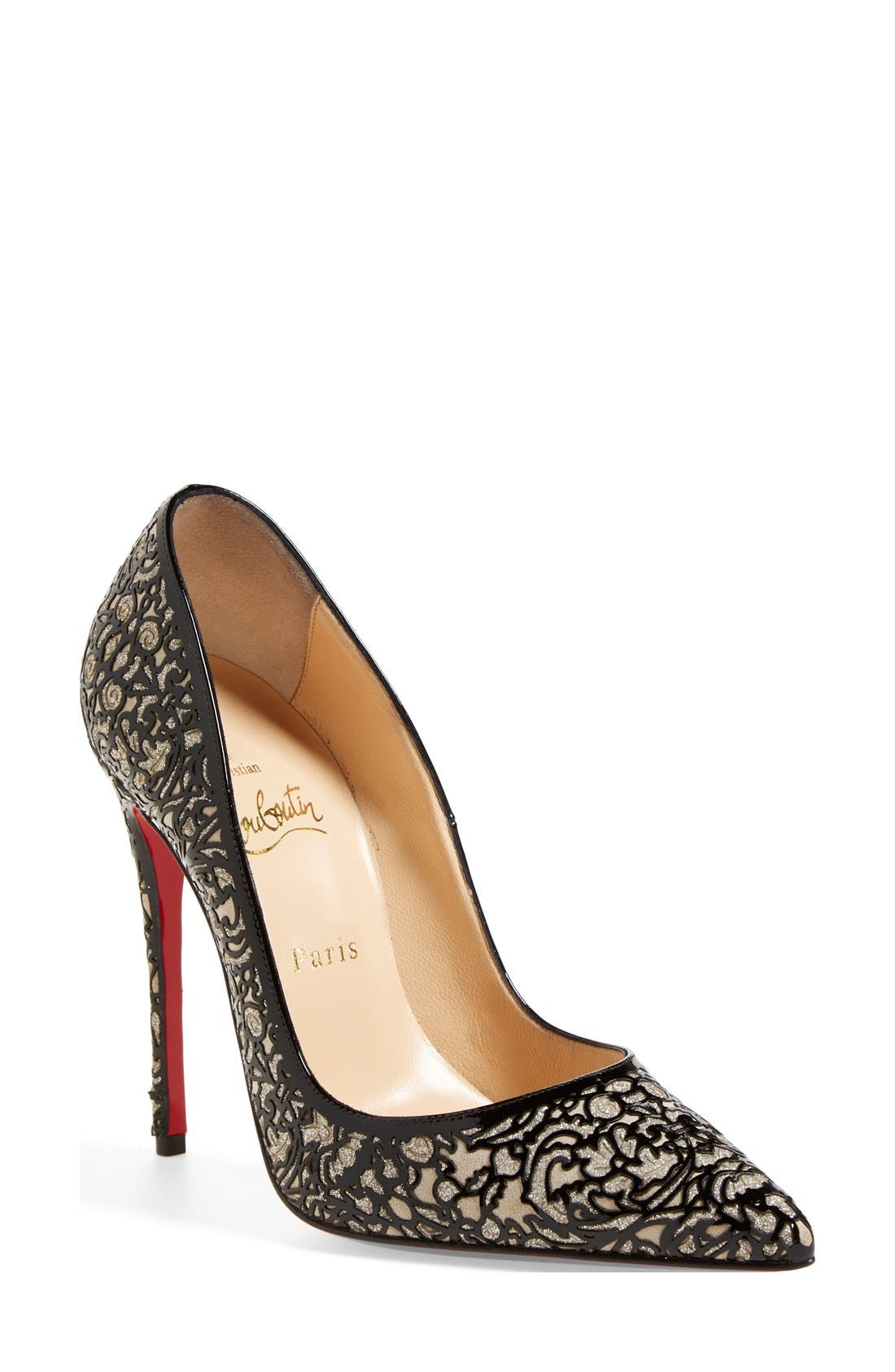 Alternate Image 1 Selected - Christian Louboutin 'So Pretty' Pointy Toe Pump