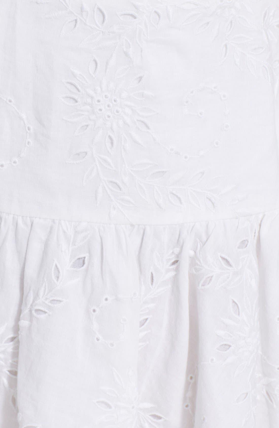 Alternate Image 3  - Zadig & Voltaire Embroidered Ruffle Hem Miniskirt