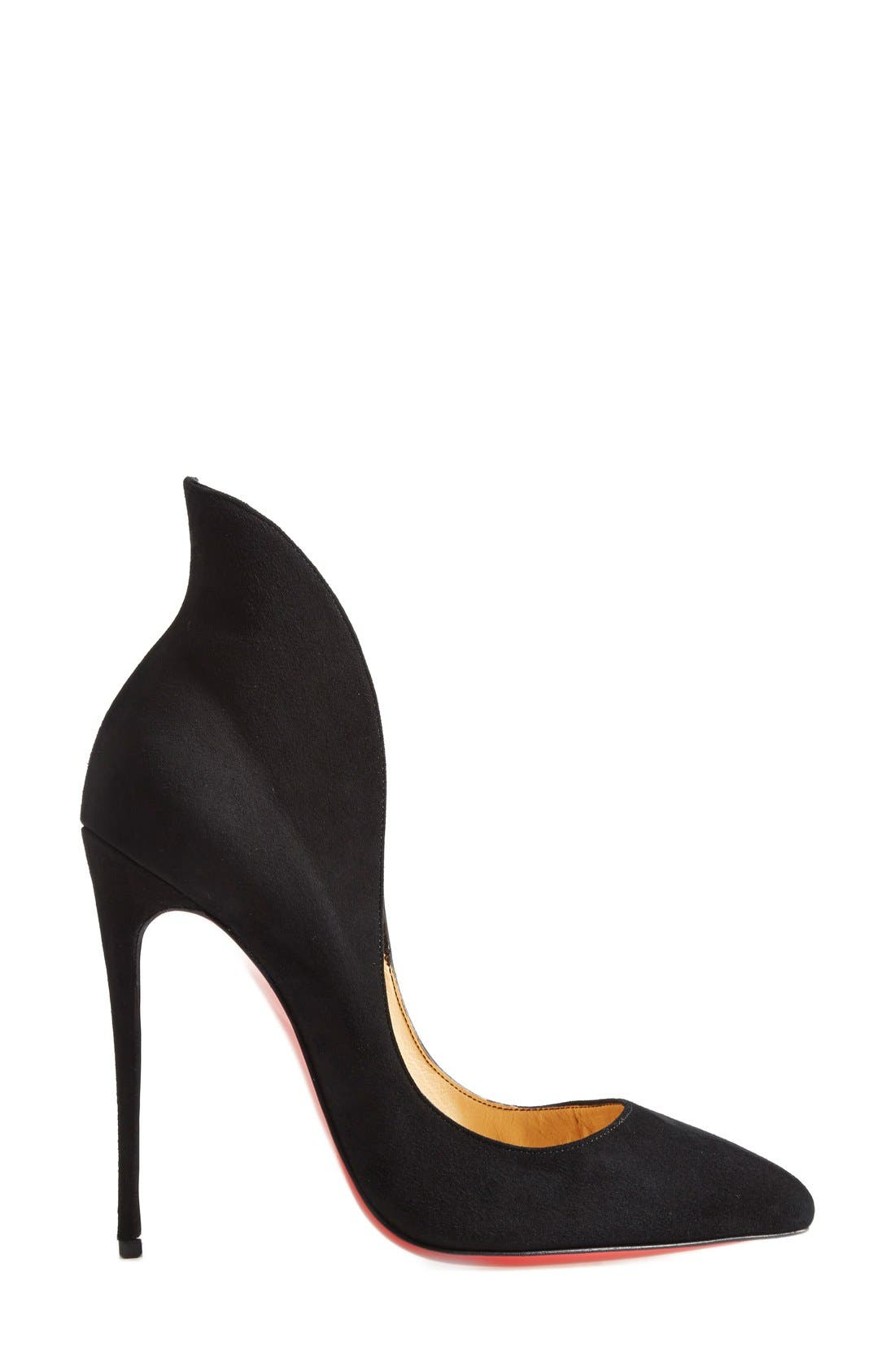 Alternate Image 4  - Christian Louboutin 'Mea Culpa' Flared Pointy Toe Pump