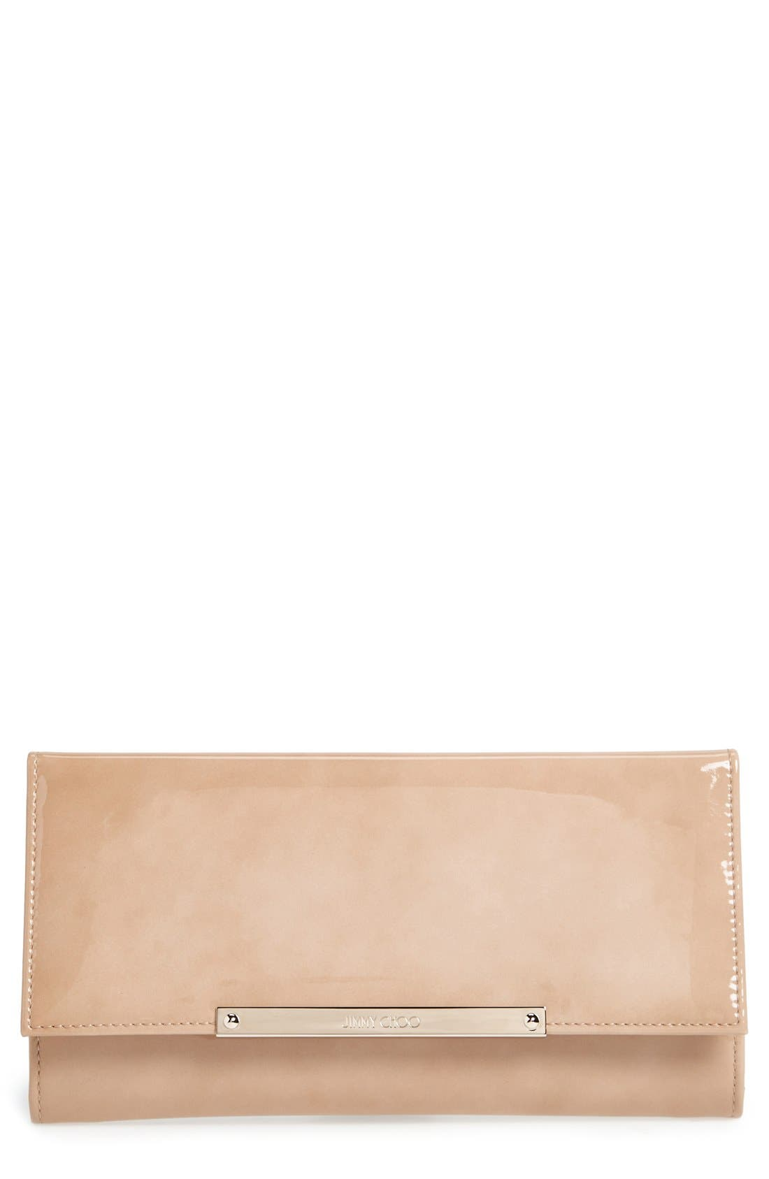 Alternate Image 1 Selected - Jimmy Choo 'Marilyn' Patent Clutch