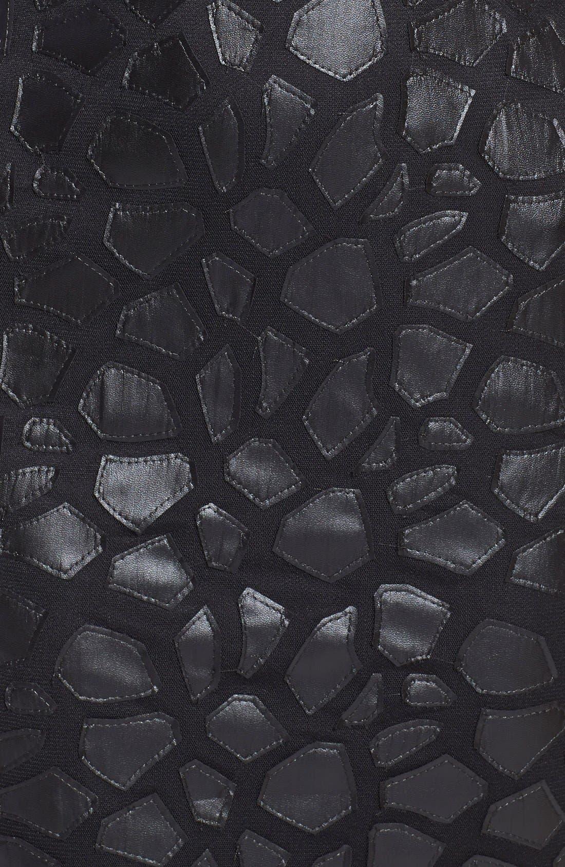 Alternate Image 4  - Asilio 'The Dark Knight' Sleeveless Sheath Dress