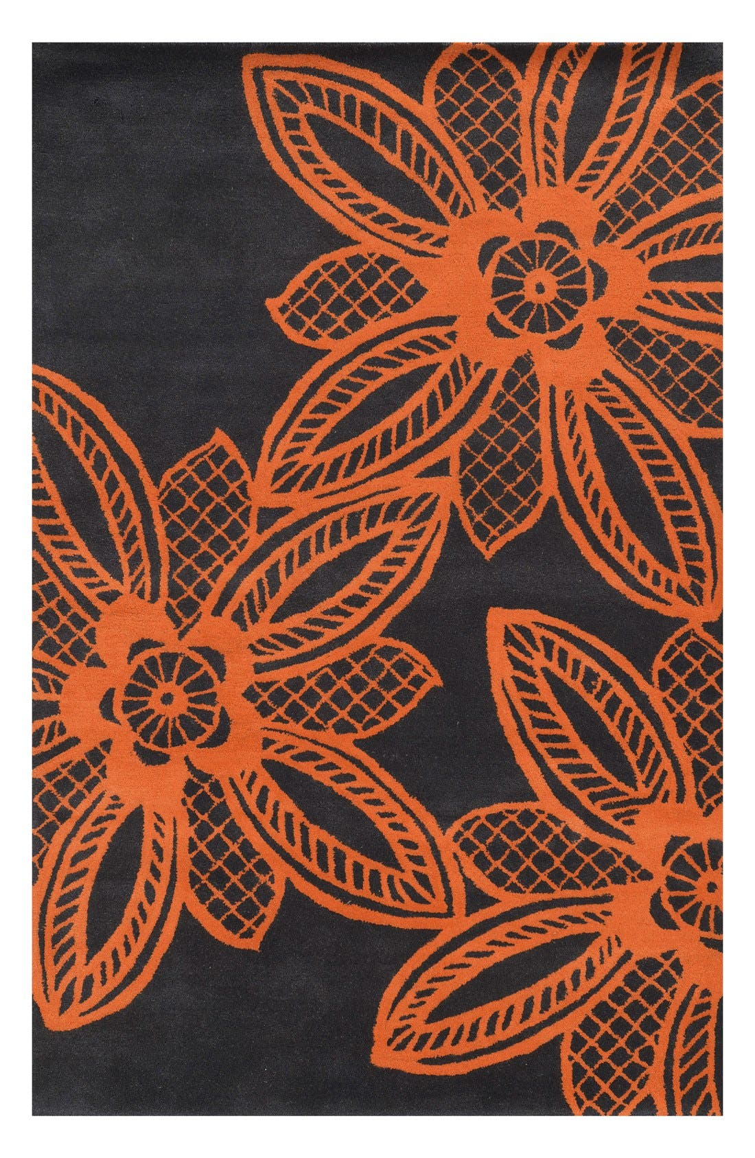 Main Image - Rizzy Home 'Lacey Jane' Hand Tufted Wool Area Rug